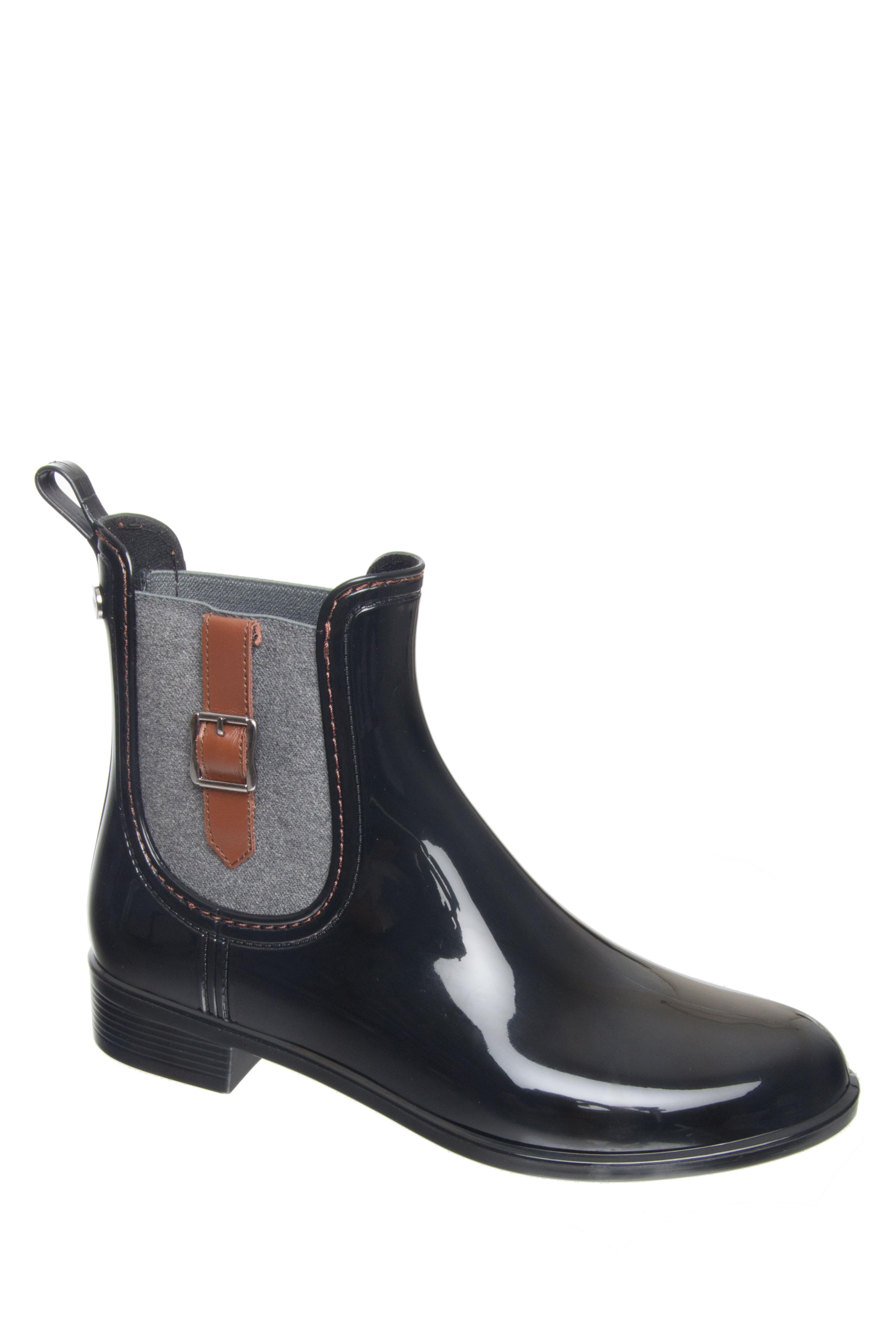 Igor Urban Buckle Rain Boots - Black