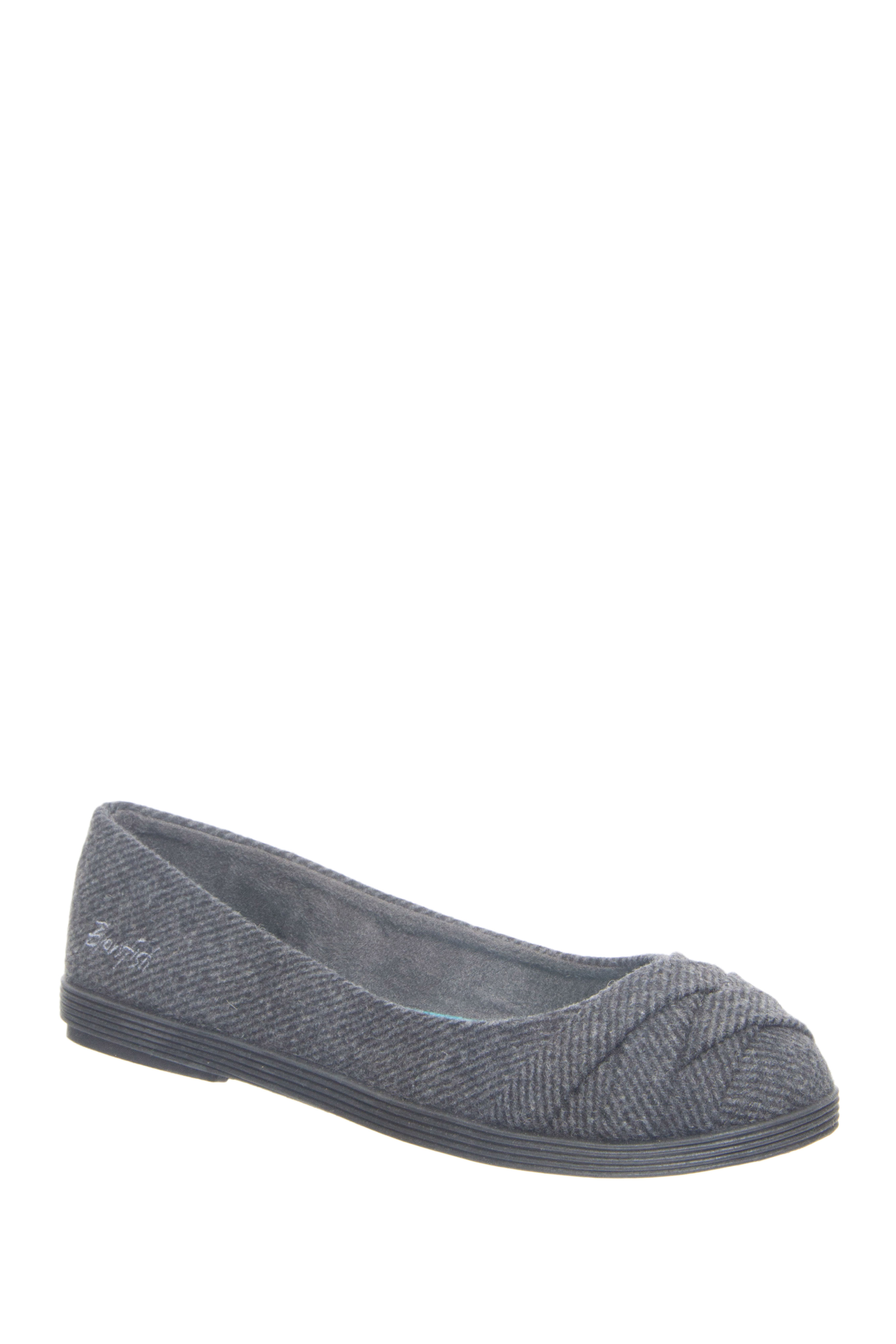 Blowfish Glo 2 Round Toe Flats - Grey