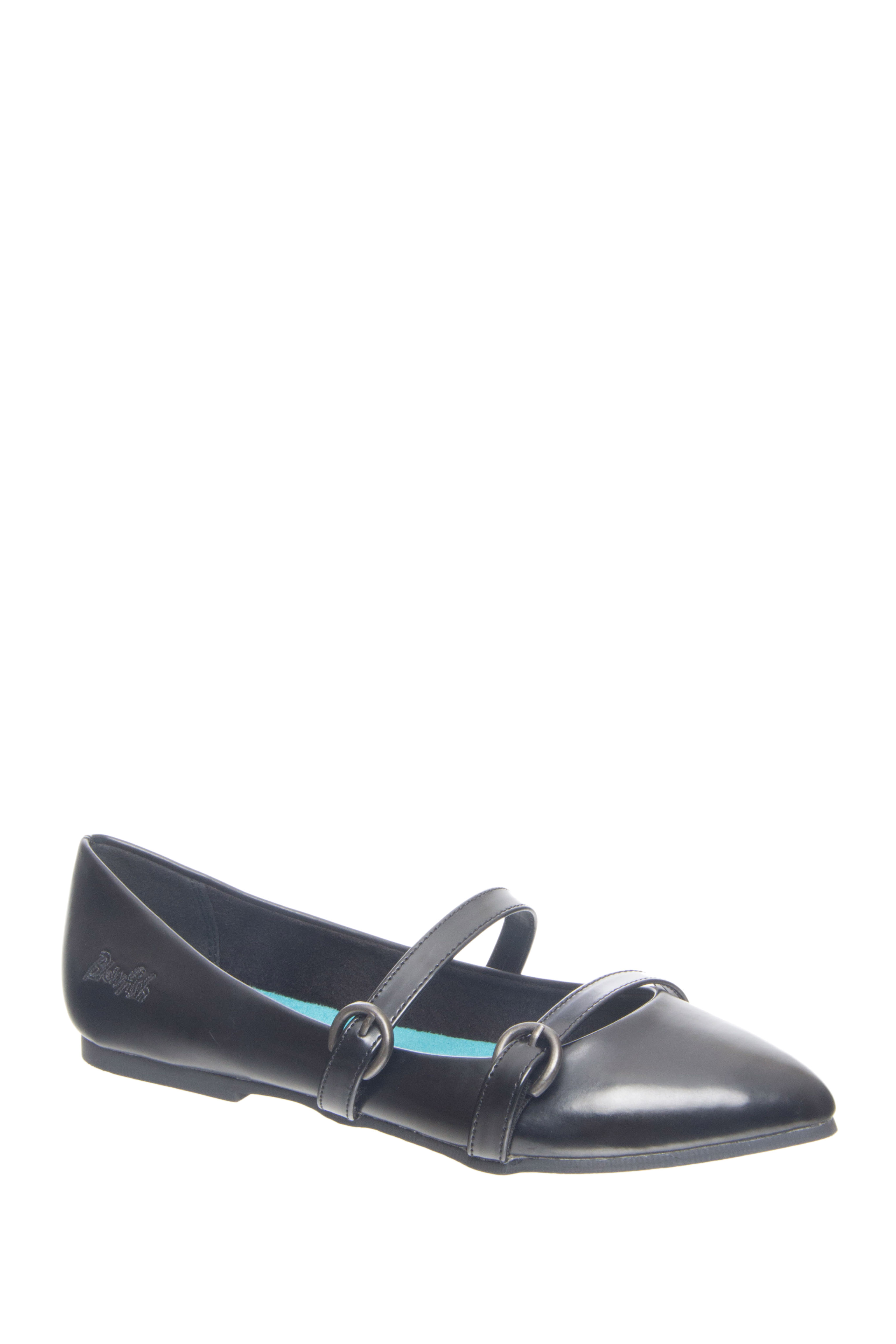 Blowfish Zaza Pointed-Toe Flats - Black