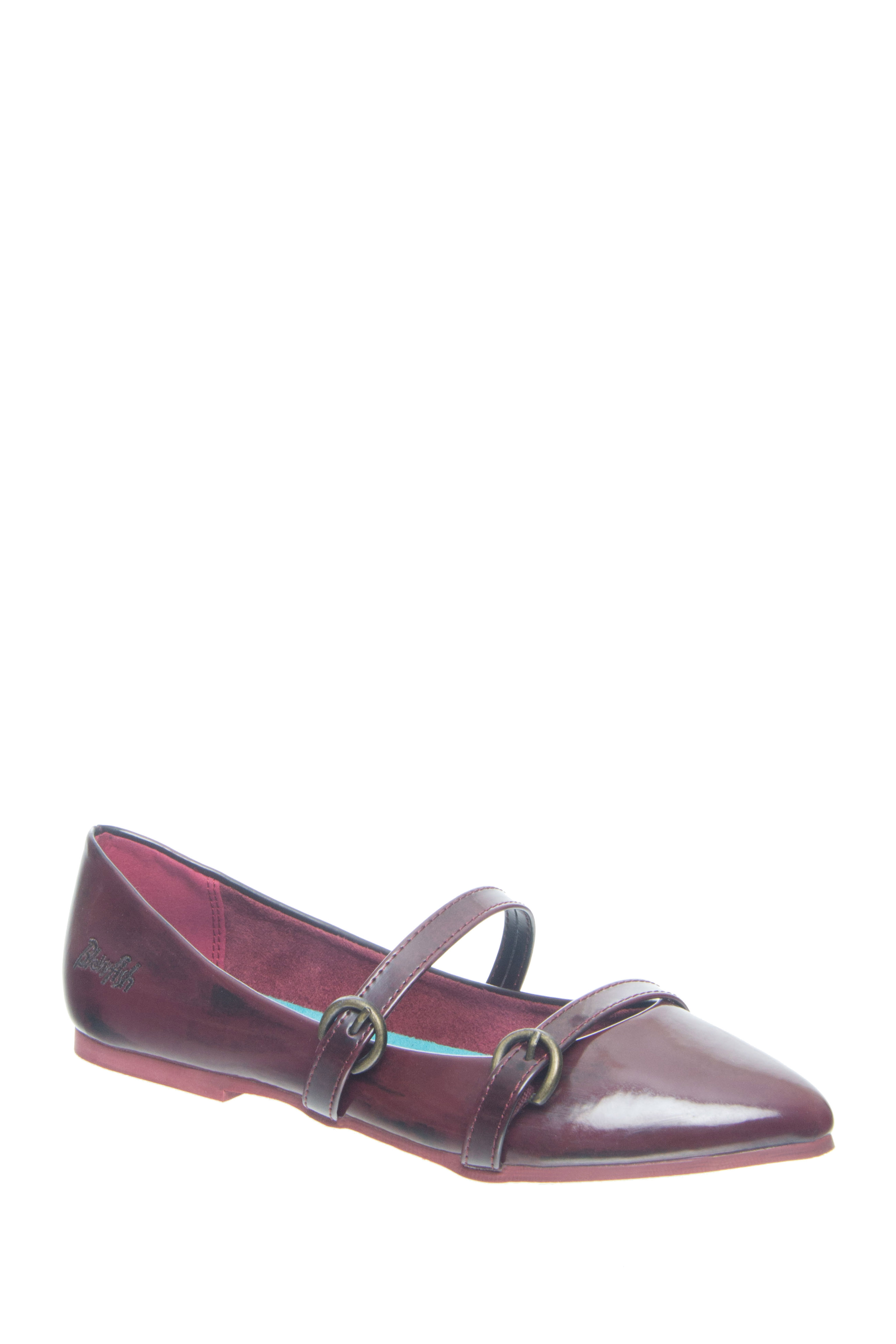 Blowfish Zaza Pointed-Toe Flats - Oxblood