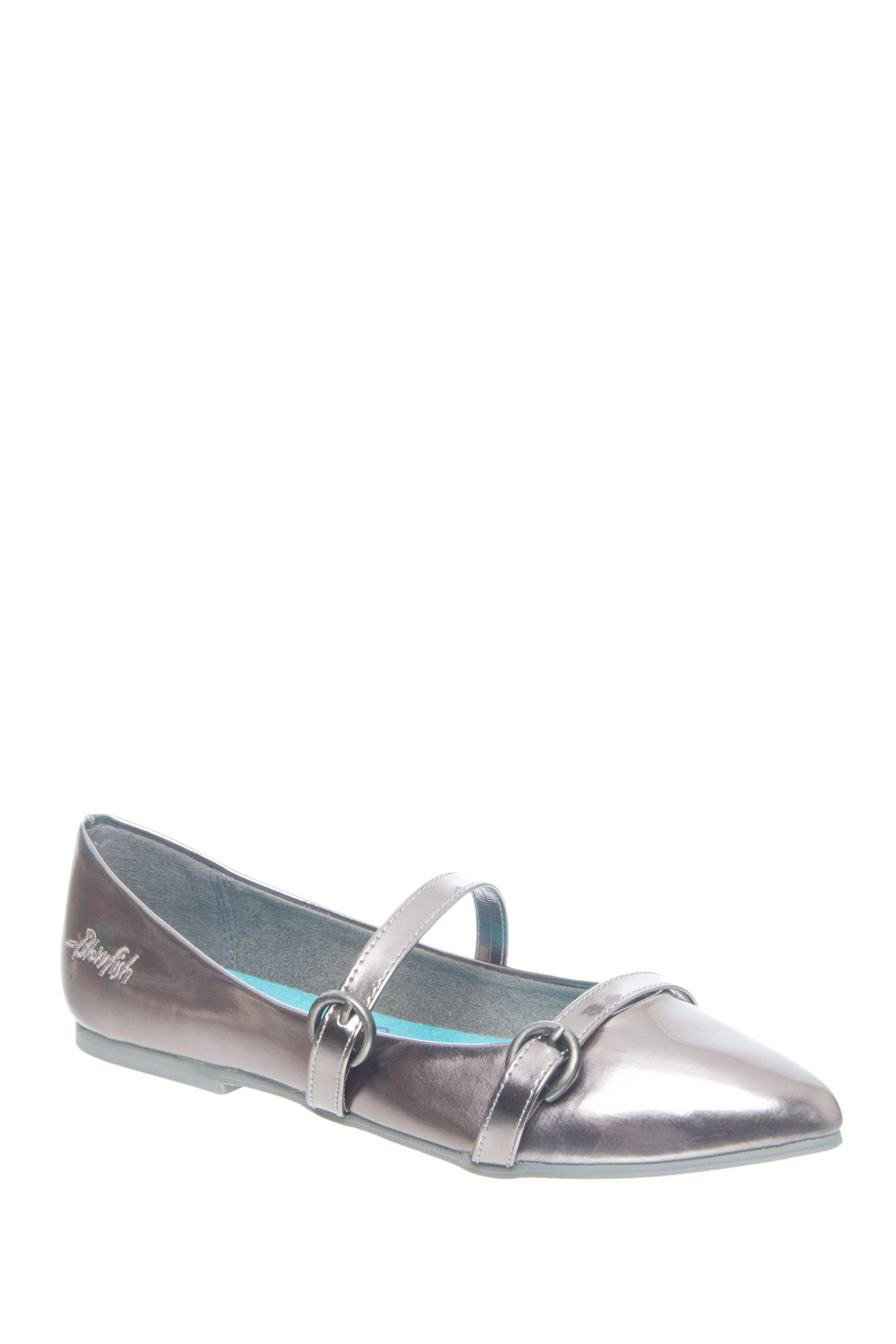 Blowfish Zaza Pointed-Toe Flats - Pewter