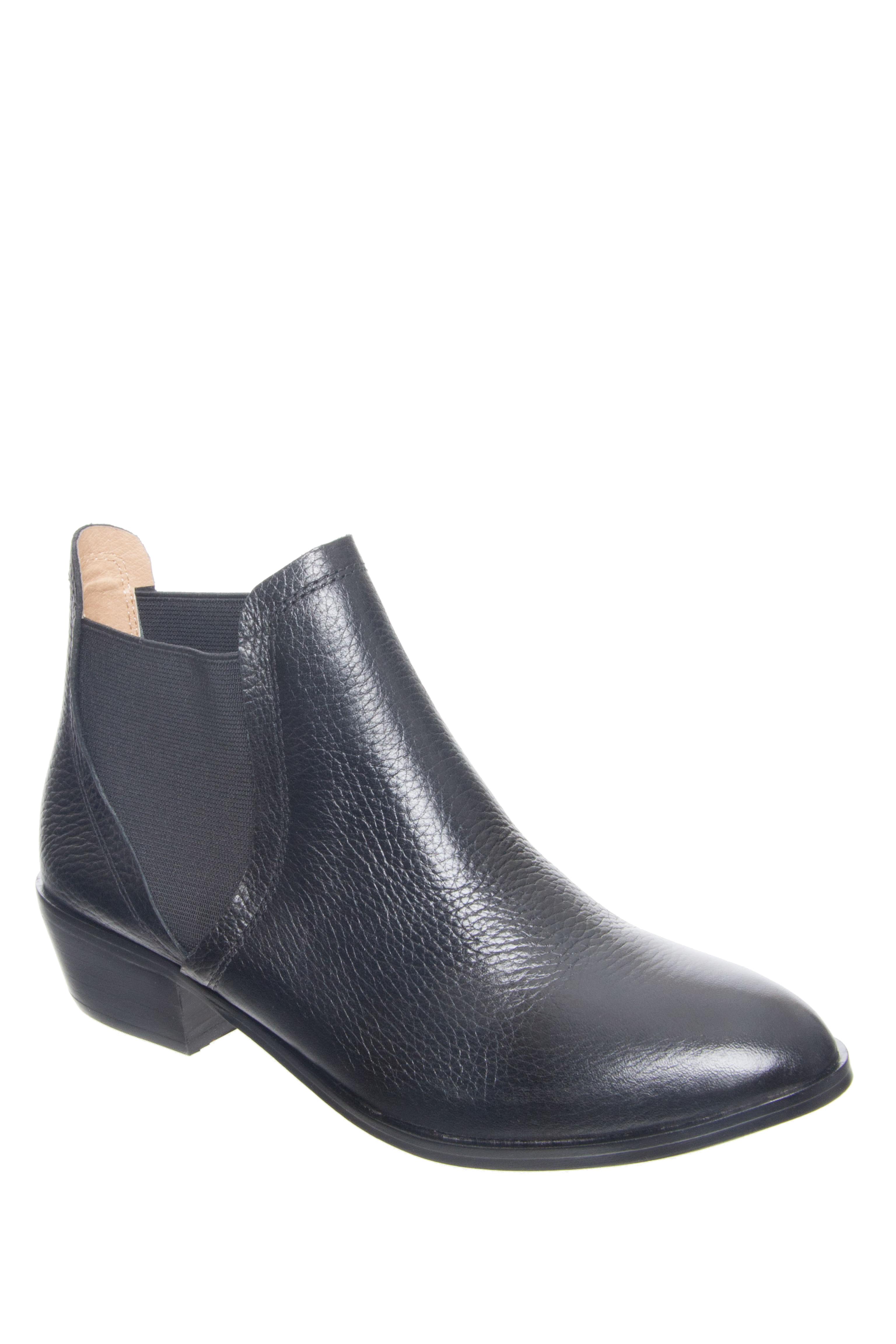SPLENDID Henri Low Heel Booties - Black
