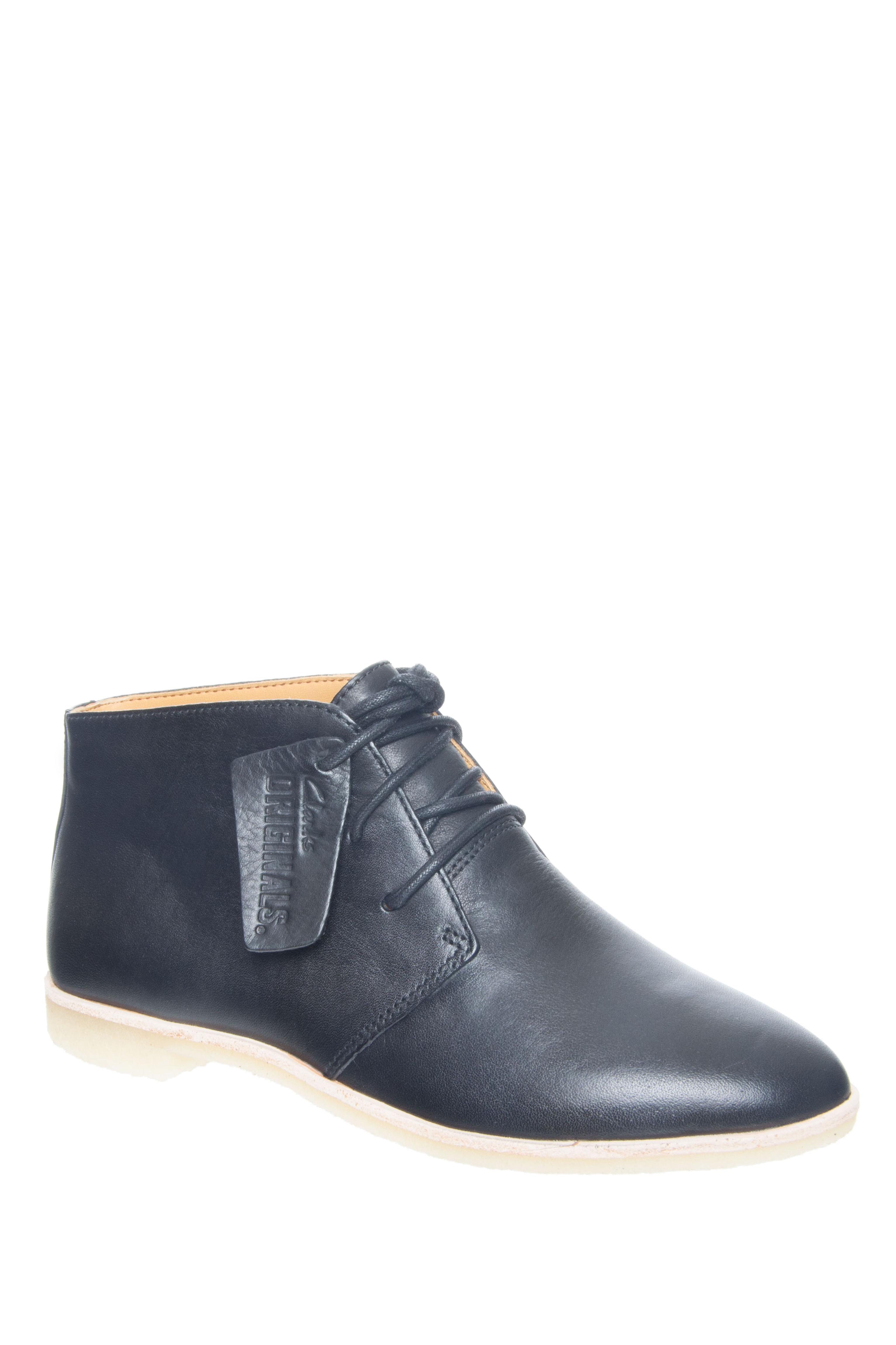 Clarks Phenia Desert Boots - Black