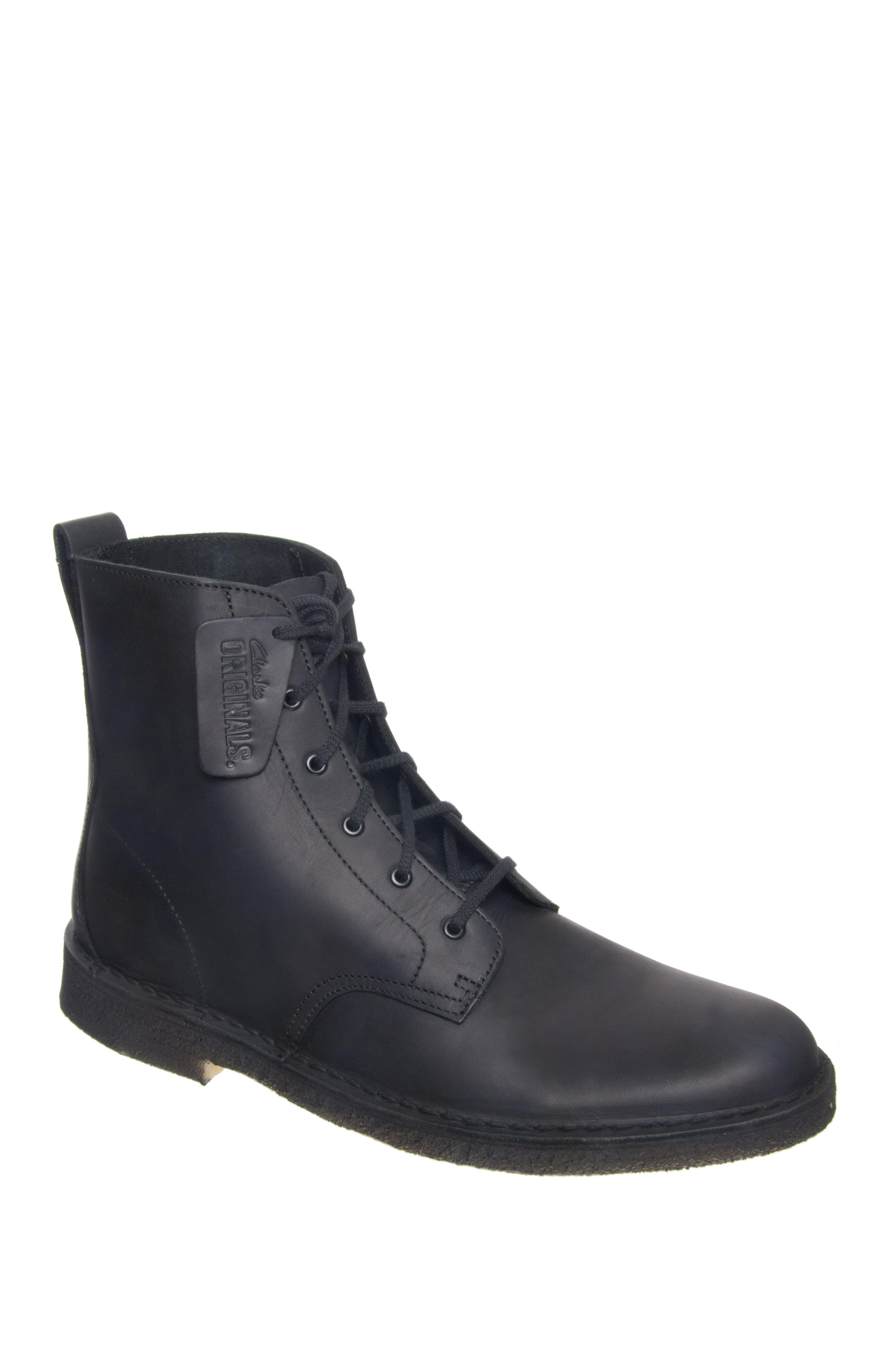 CLARKS Desert Mali Boots - Black
