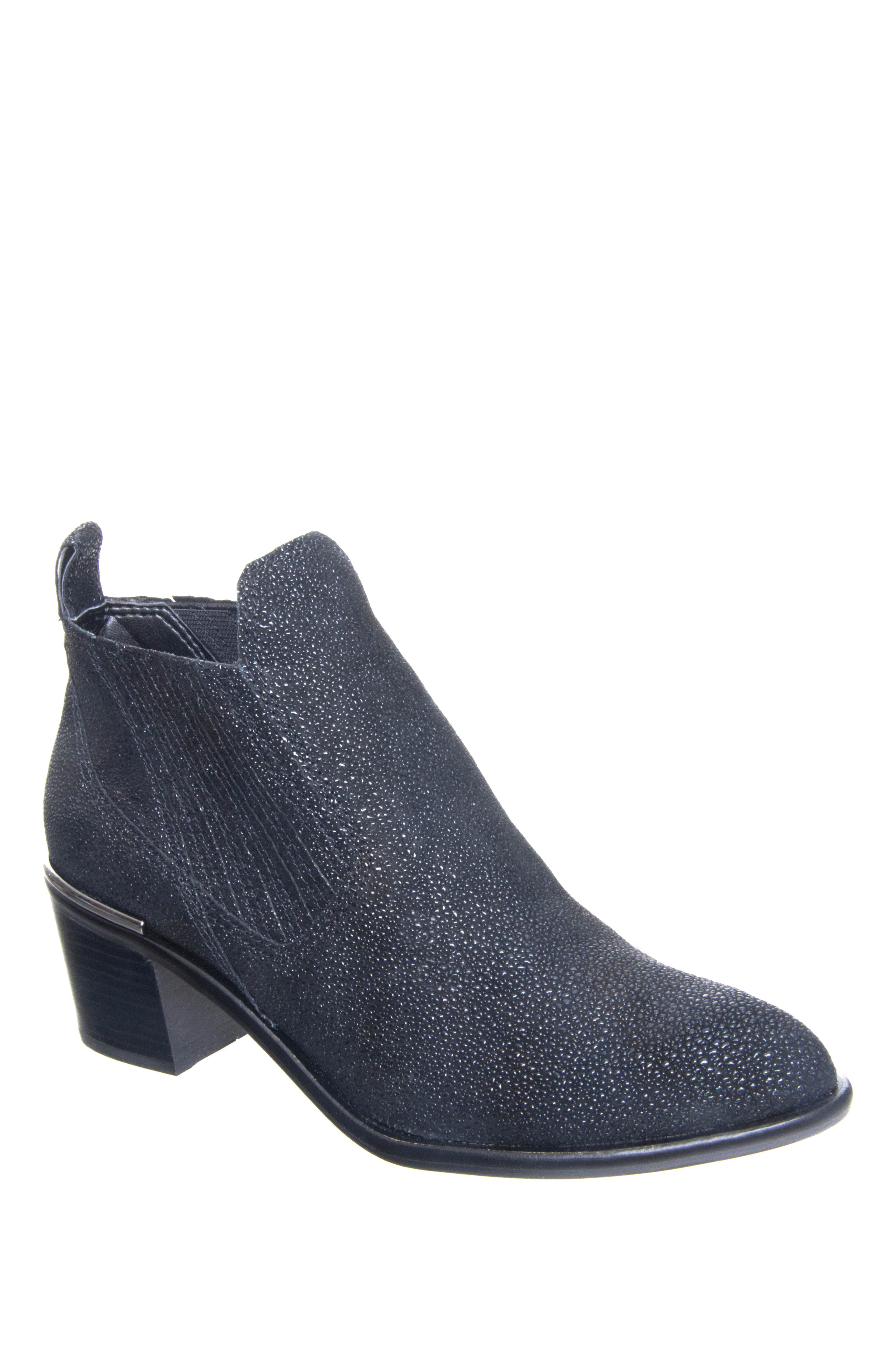 Dolce Vita Percy Mid Heel Booties - Black