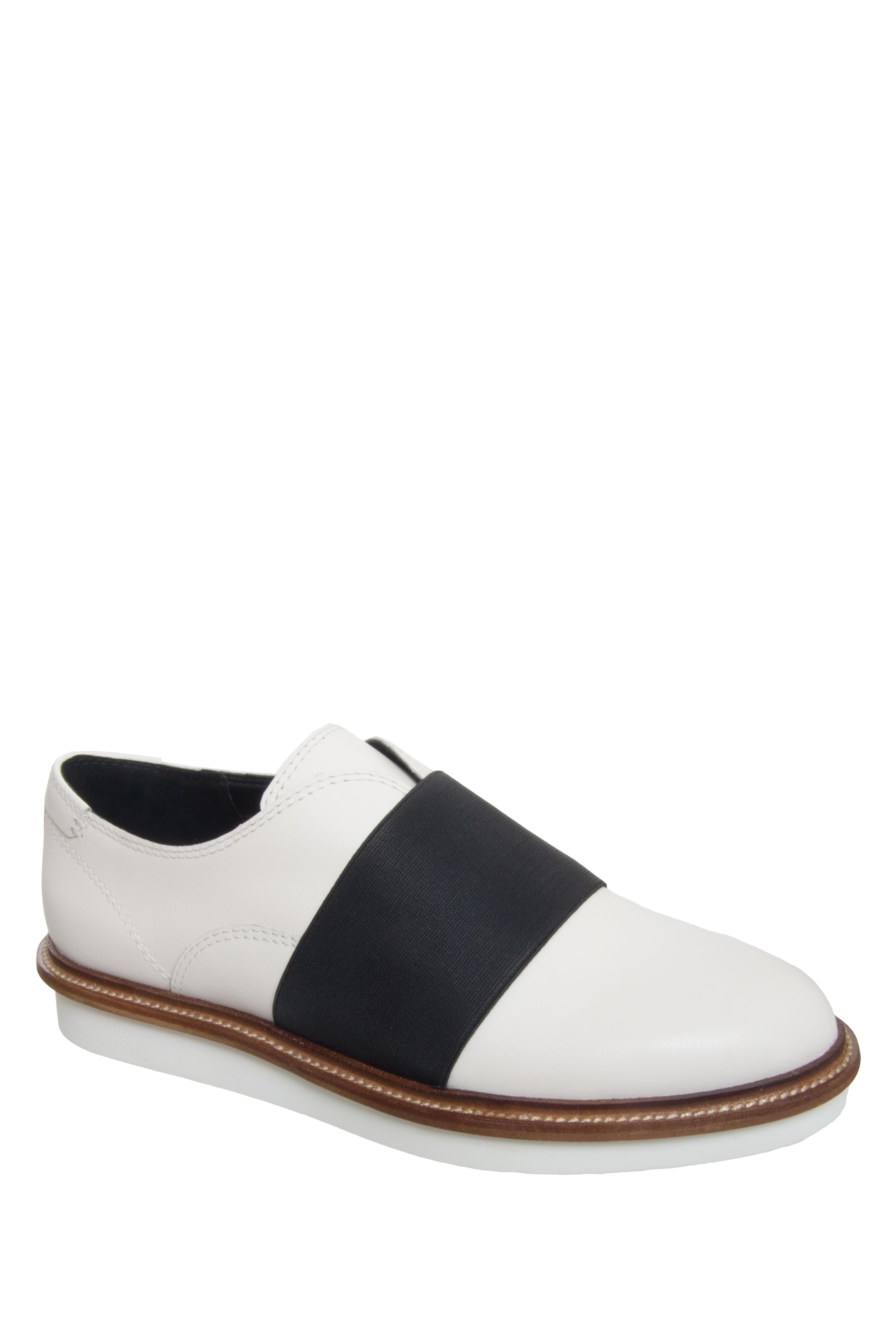 Dolce Vita Saxon Low Platform Flats - White