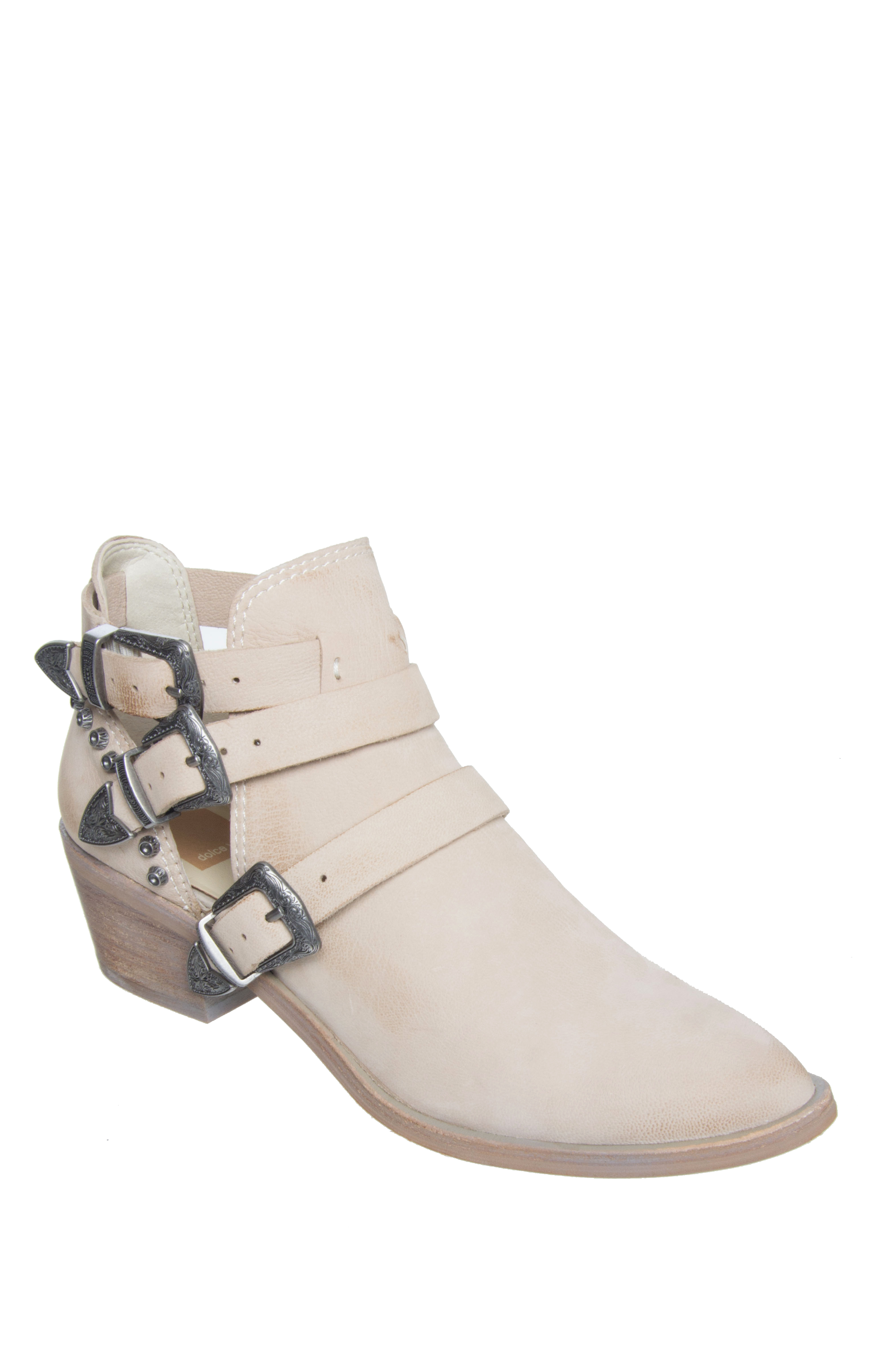 Dolce Vita Spur Buckle Booties - Sand