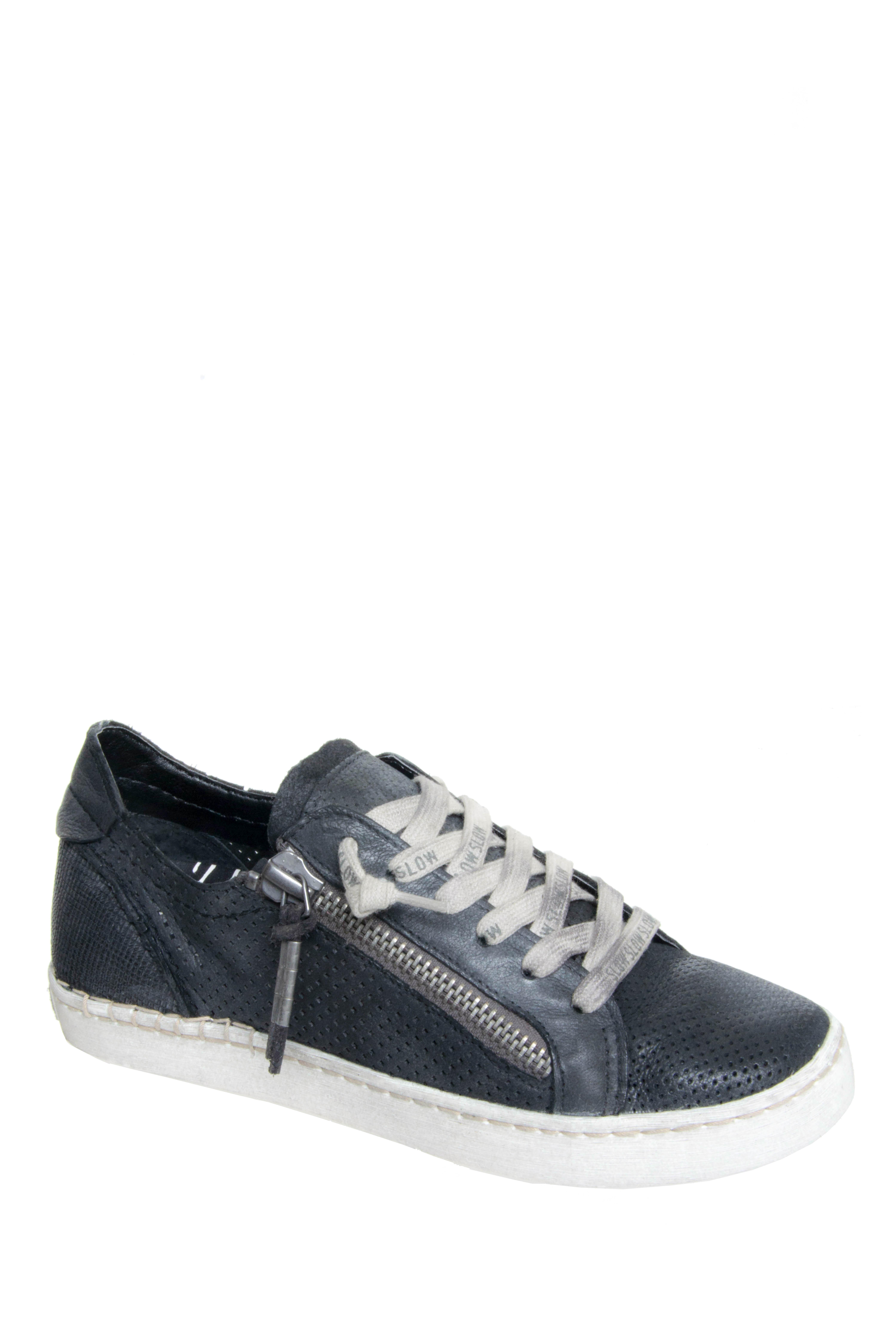 Dolce Vita Zombie Low Top Sneakers - Black Nubuck