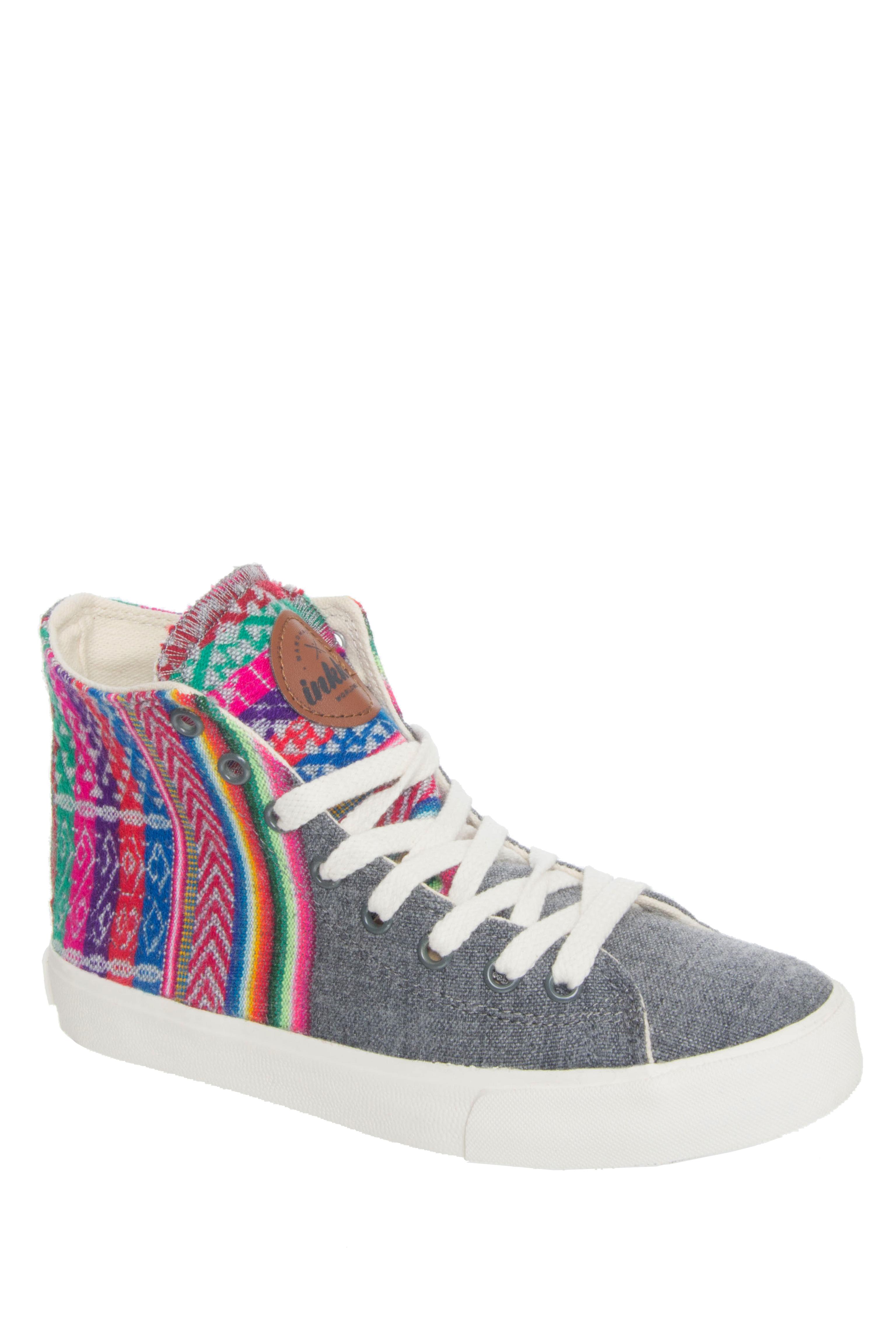 INKKAS Slate Hi Top Sneakers - Slate