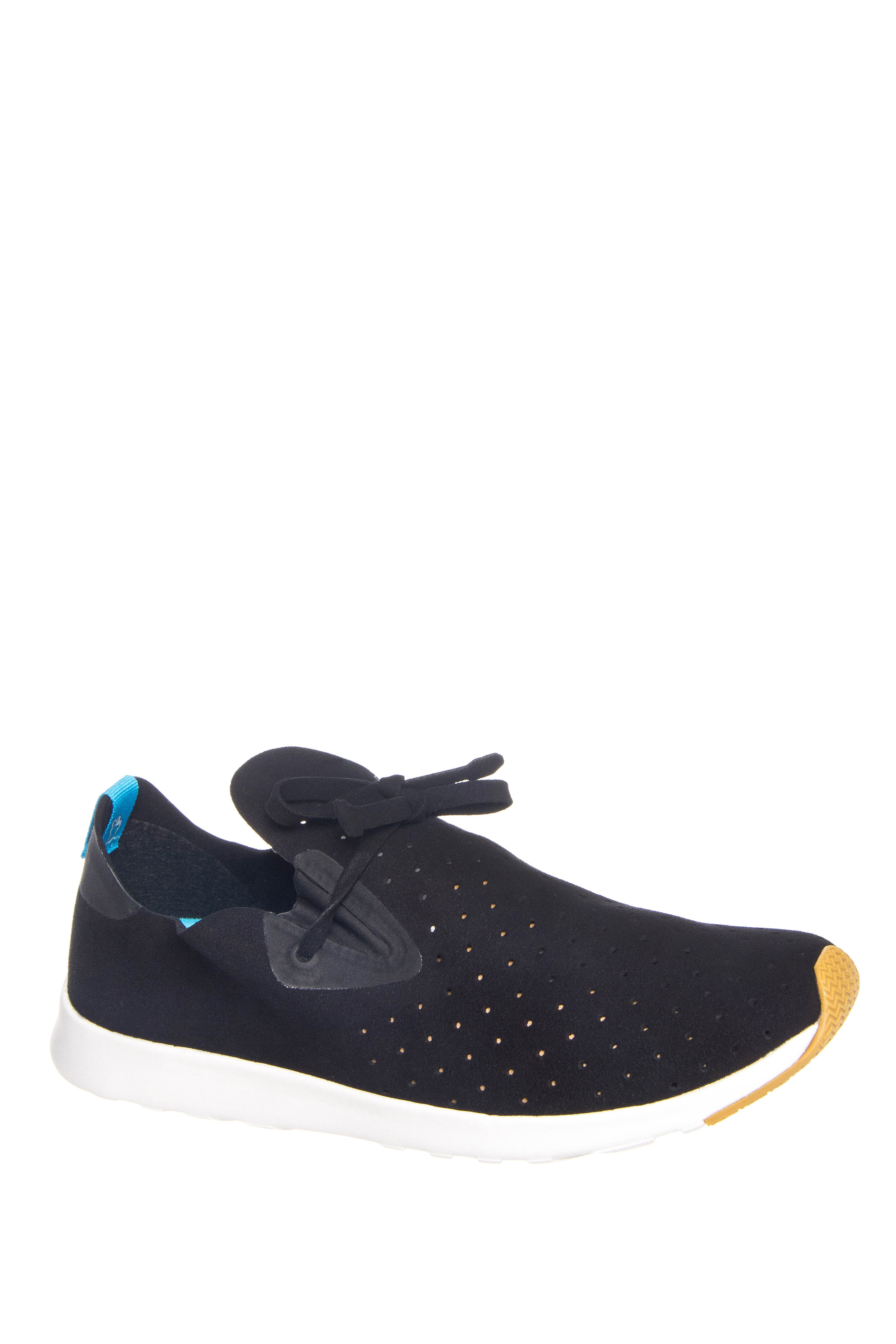 Native Unisex Apollo Moc Low Top Sneakers - Jiffy Black / Shell White
