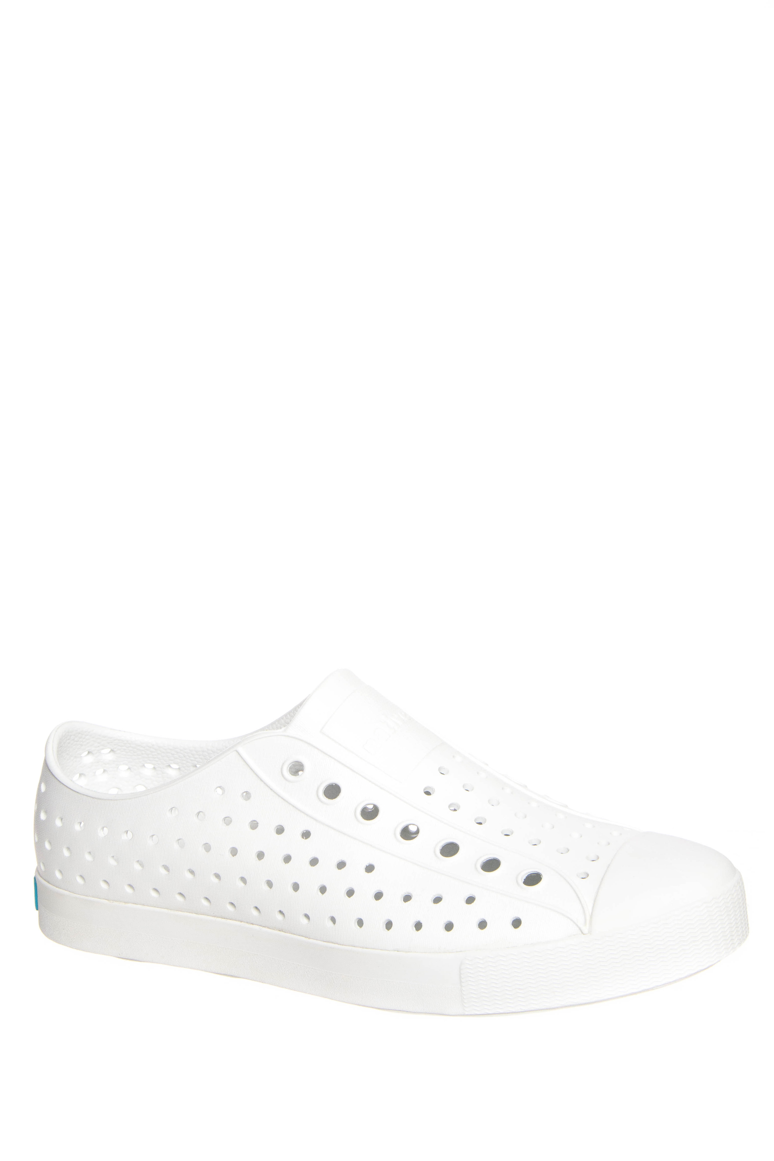 Native Unisex Jefferson Slip On Sneakers - Shell White Solid