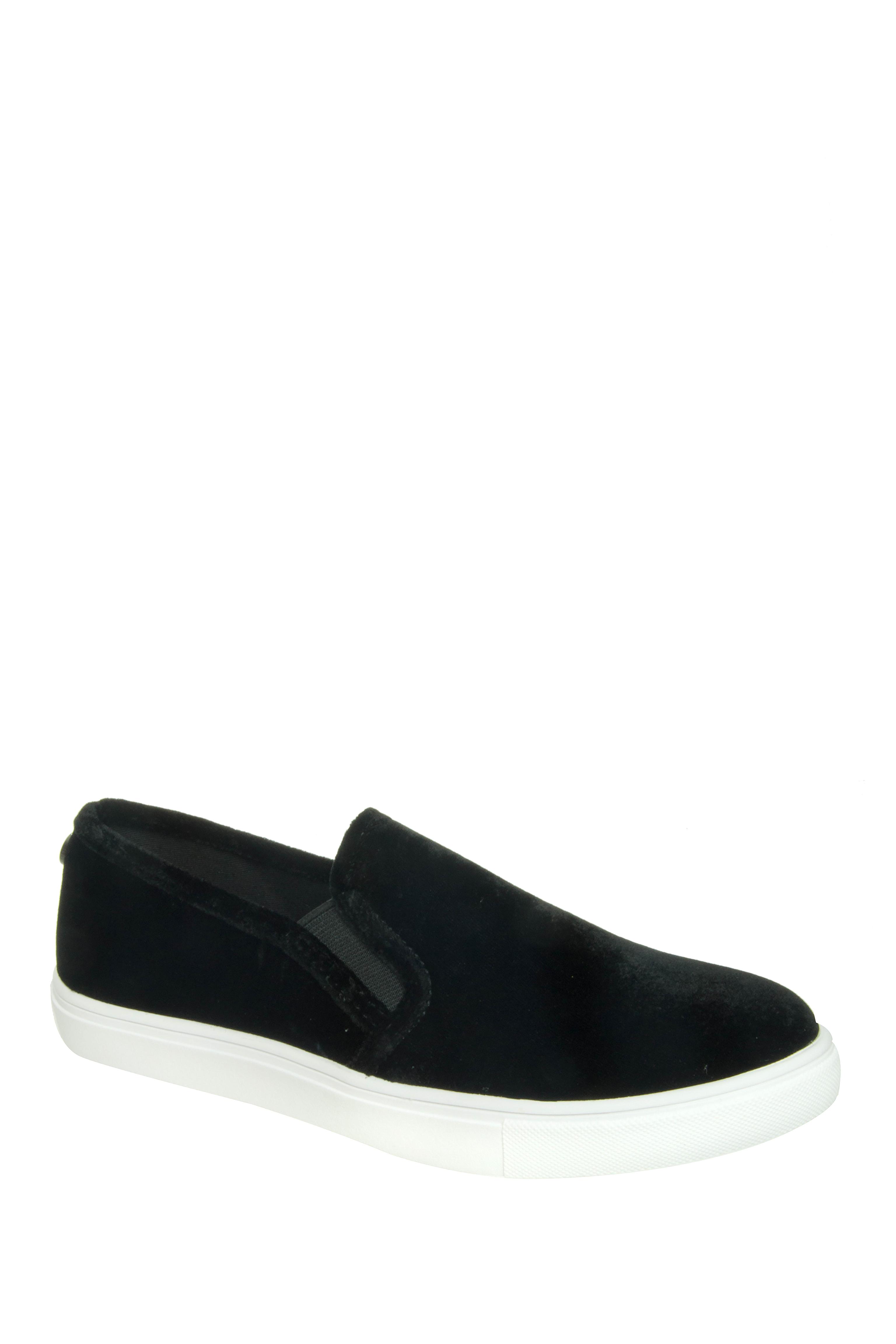 Steve Madden ECNTRCV Slip-On Sneakers - Black / Velvet