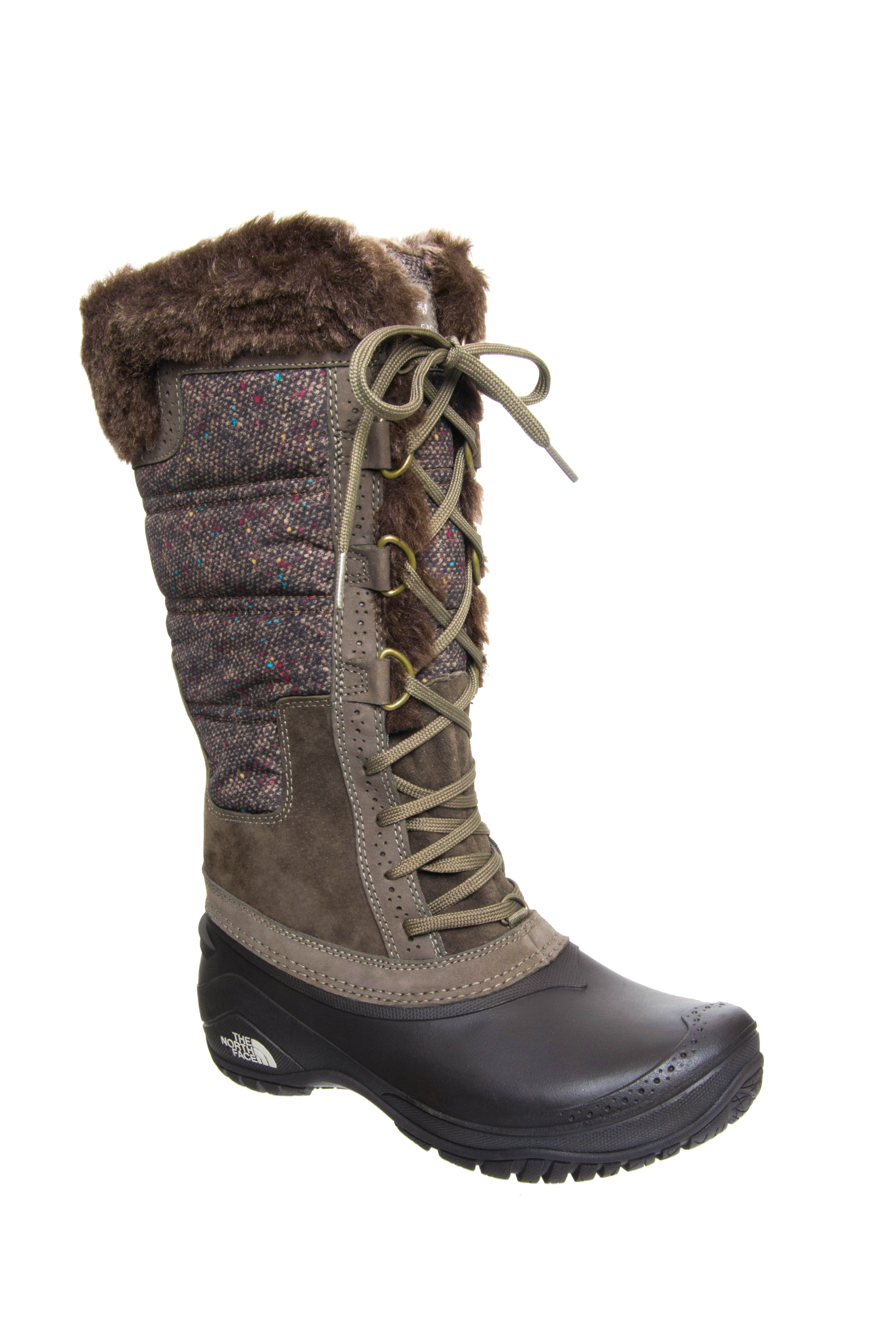 The North Face Shellista II Tall Boots - Brown