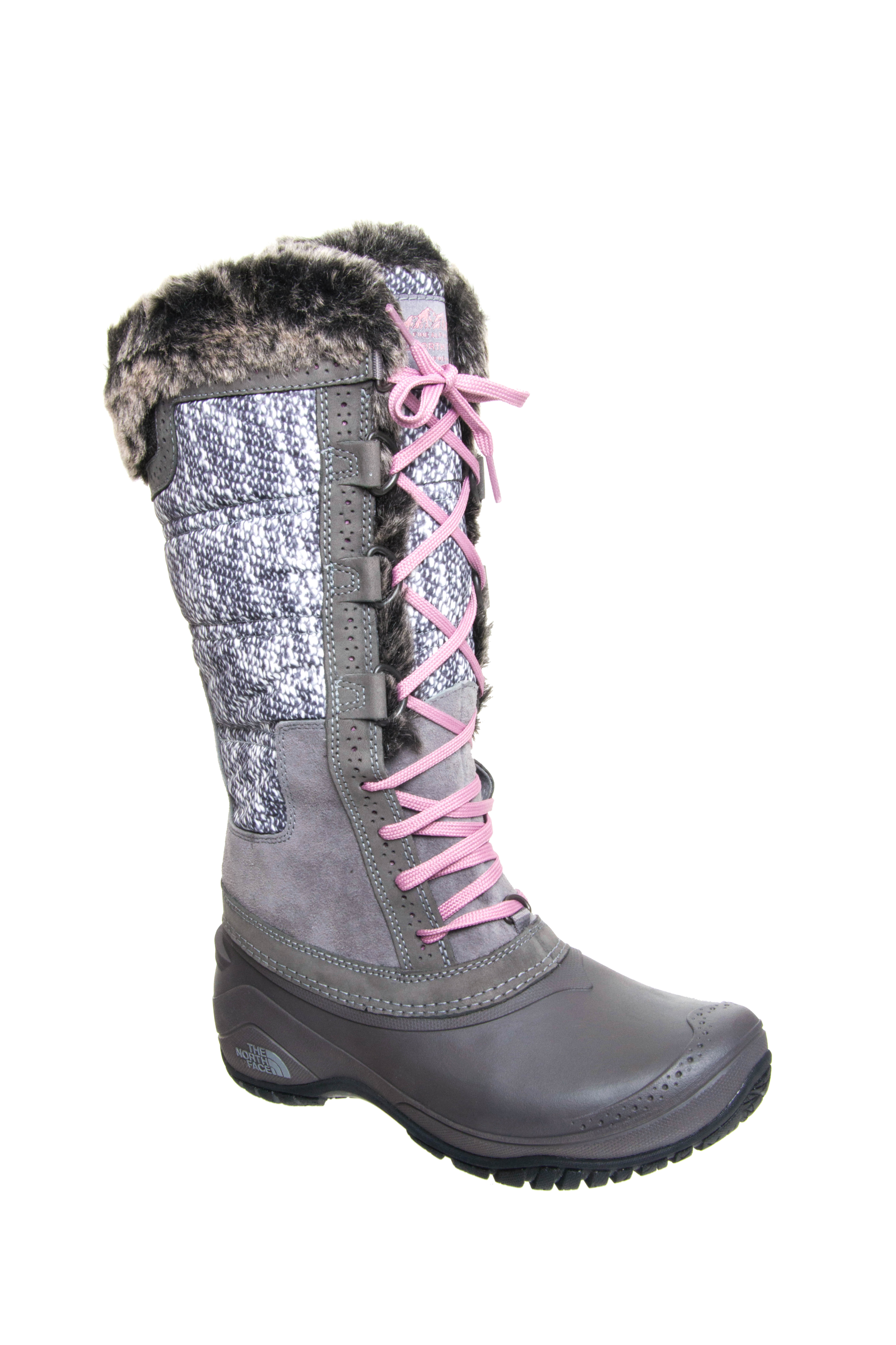 The North Face Shellista II Tall Boots - Pearl Grey