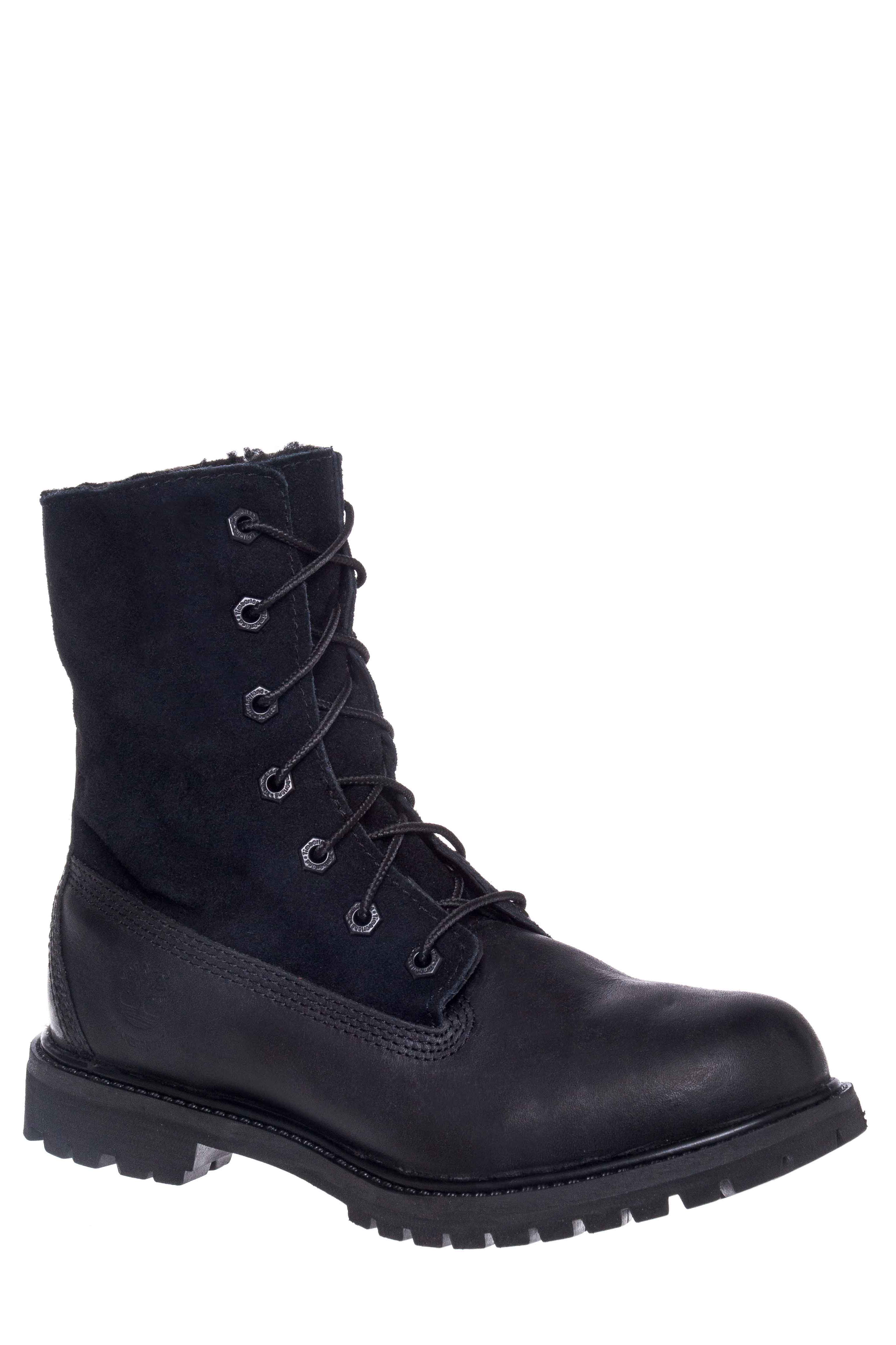 Timberland Earthkeeper's Authentics Lace-Up Boots - Black