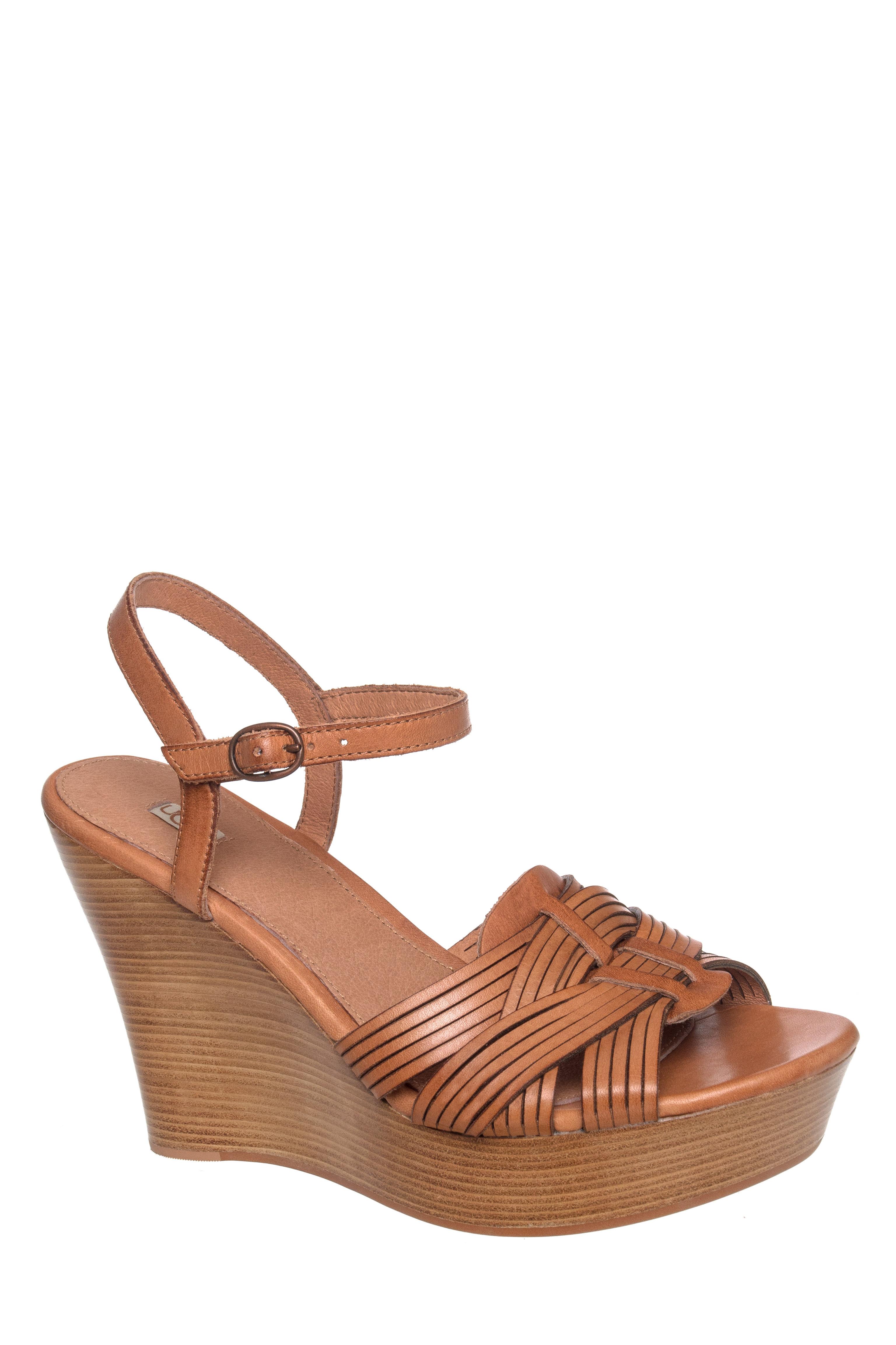 Allvey Platform Wedge Sandal