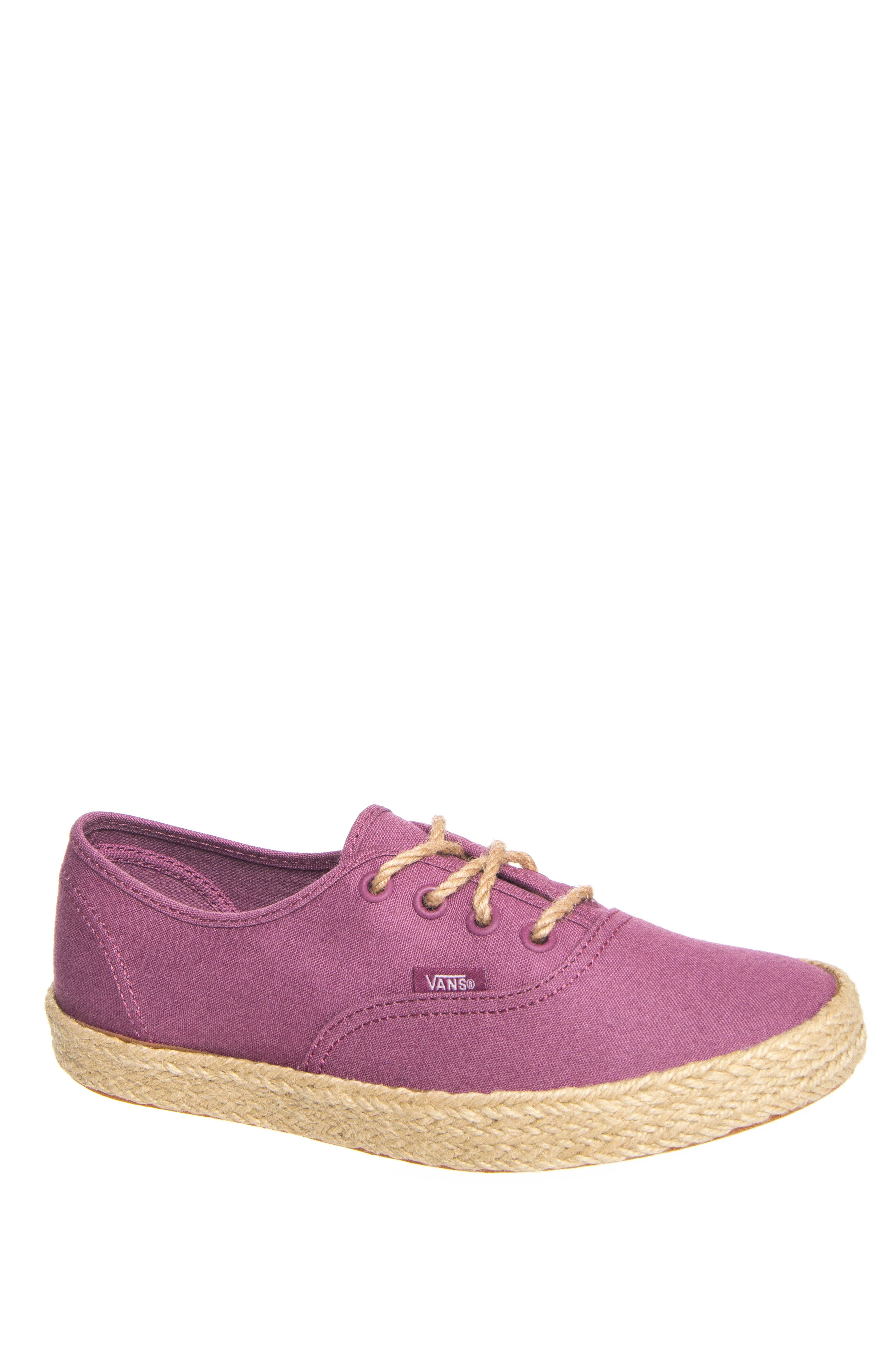Vans Espadrille Authentic Slip On Sneakers - Grape Nectar
