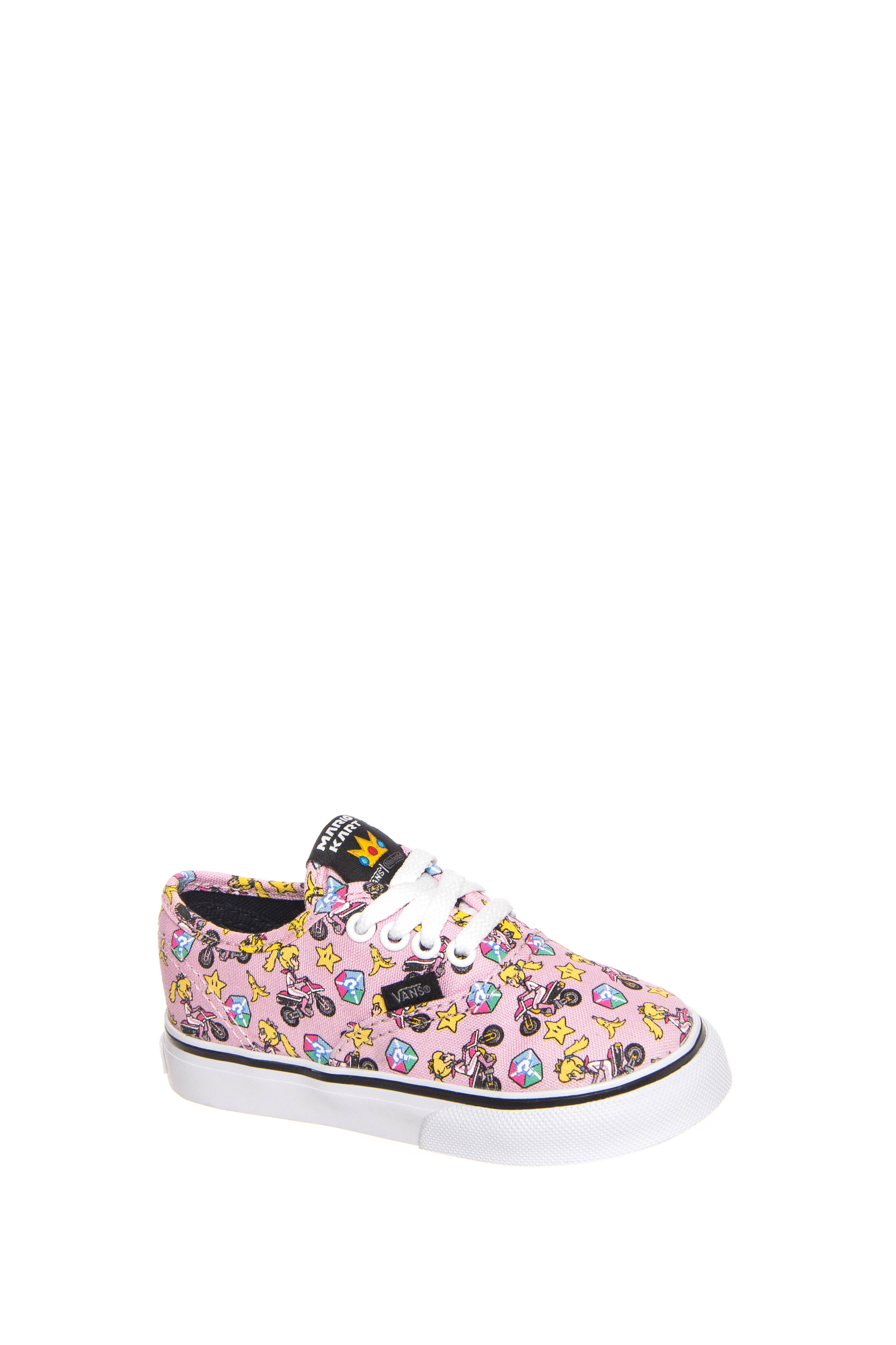 Vans Toddler's Authentic Low Top Sneakers - Princess Peach / Motorcycle