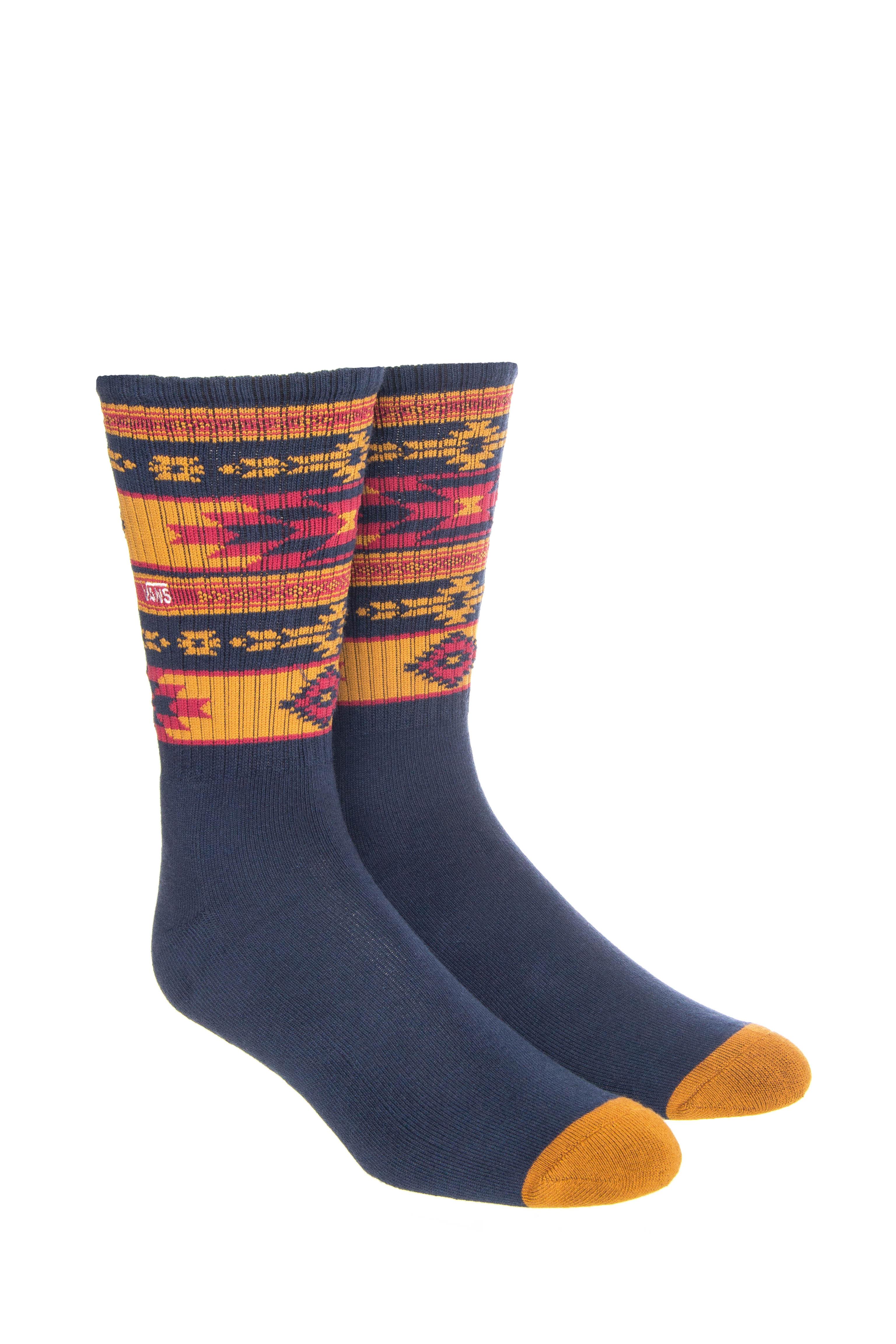 Men's Native Stripe Crew 1 Pack Sock