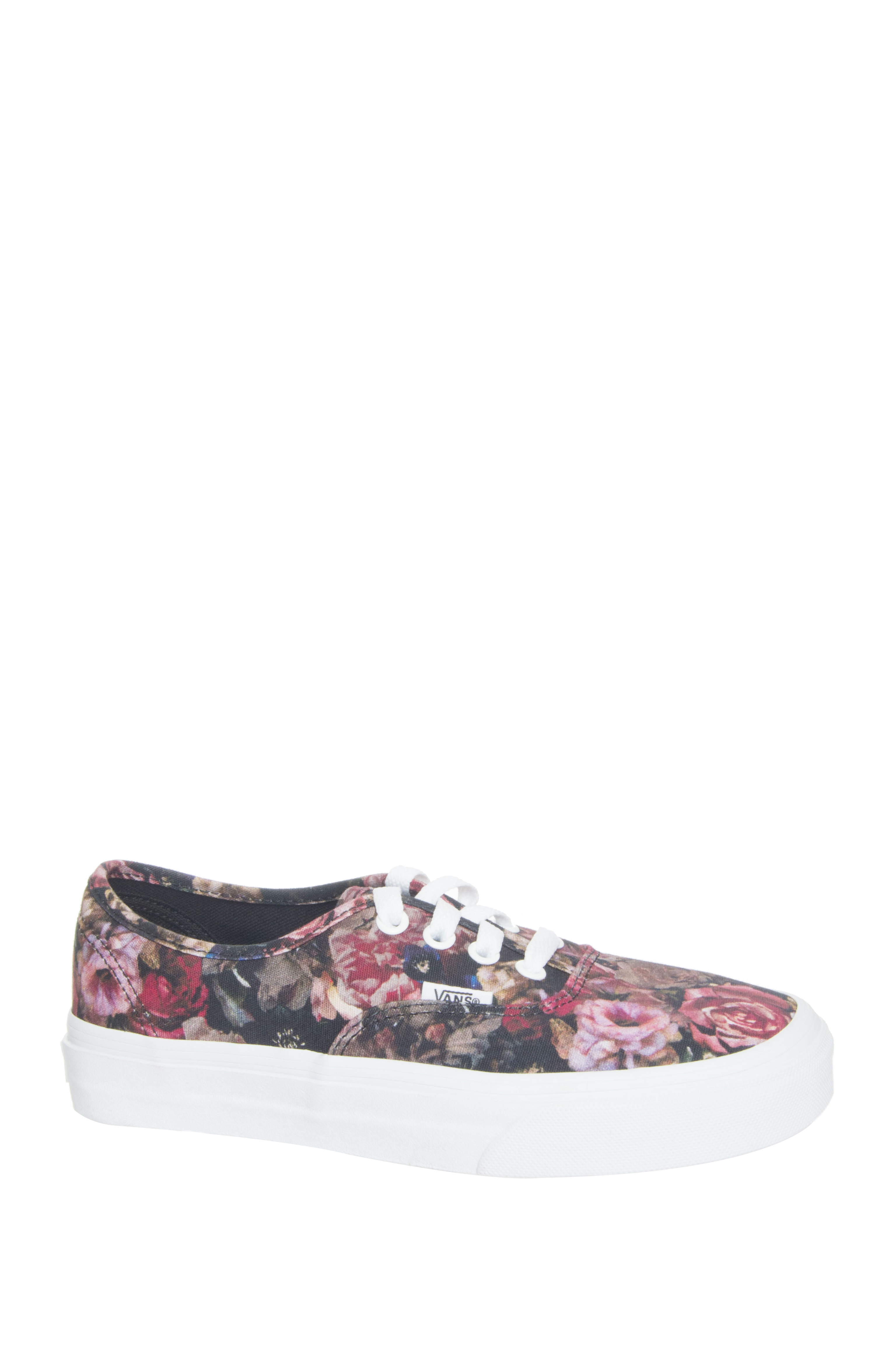 Vans Unisex Moody Floral Low Top Sneakers - Black