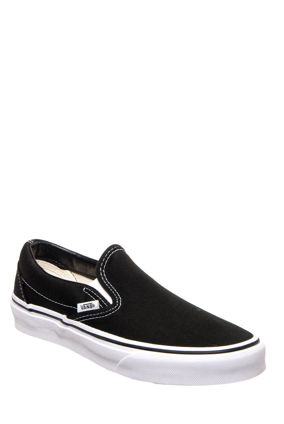 VANS Unisex Classic Slip On Sneakers - Black