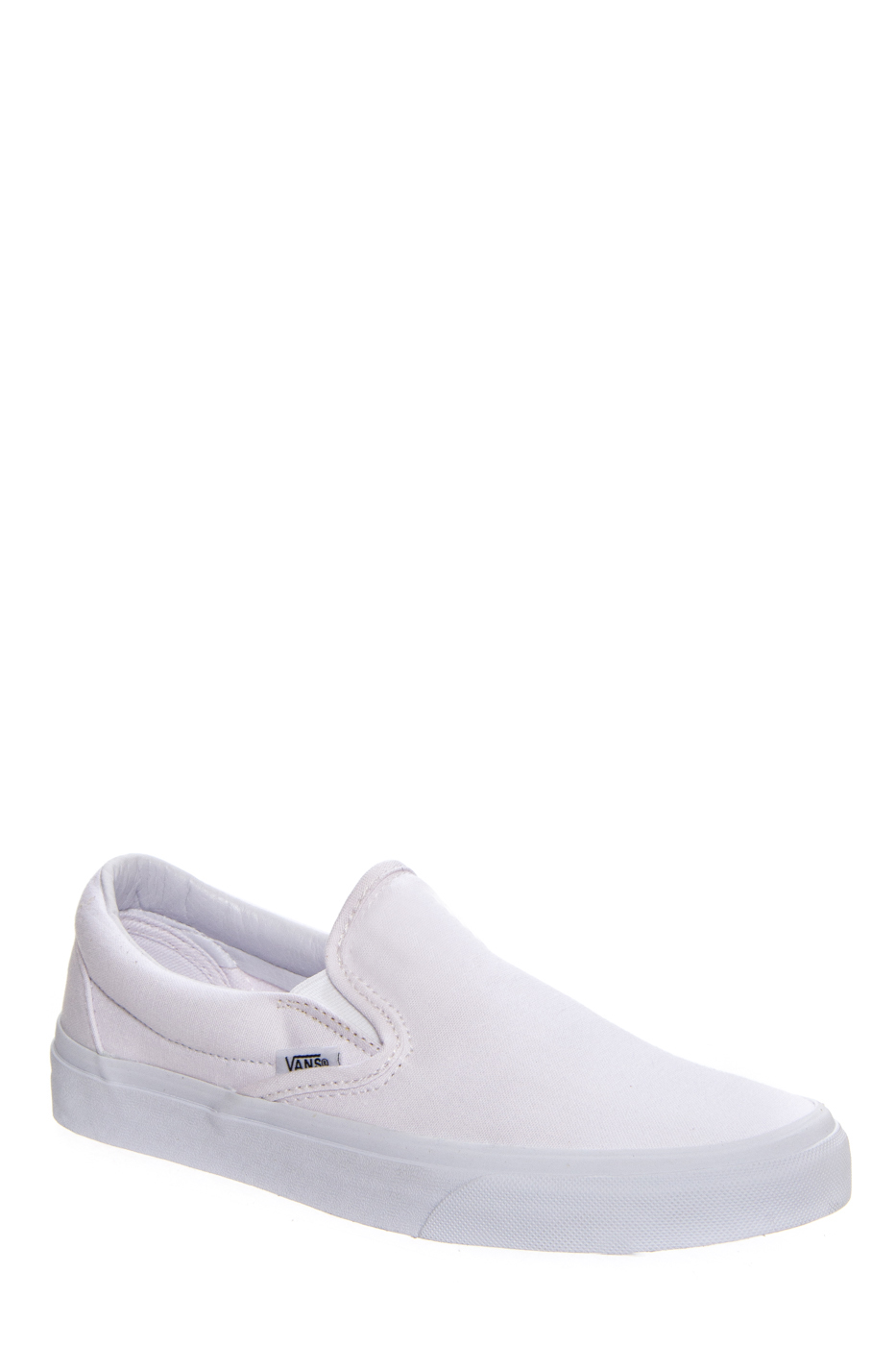 VANS Unisex Classic Slip On Sneakers - True White / True White