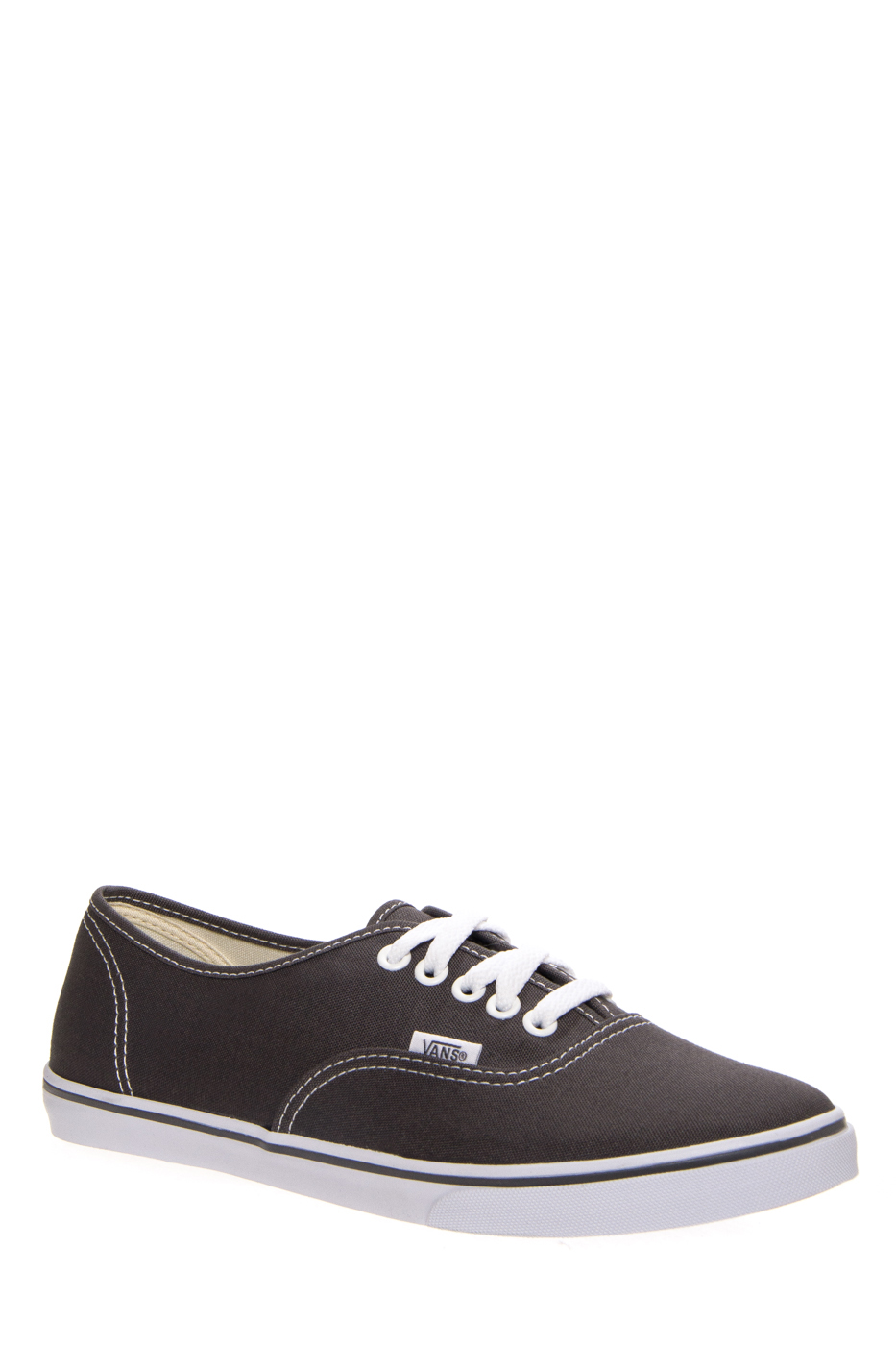 VANS Unisex Authentic Lo Pro Sneakers - Pewter / True White