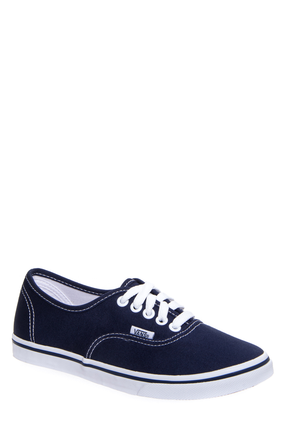 VANS Authentic Lo Pro Lace Up Sneakers - Navy