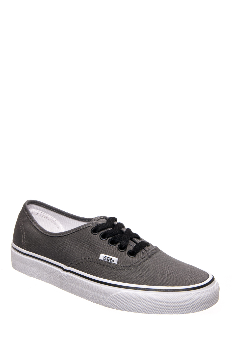 VANS Unisex Authentic Low Top Sneakers - Pewter / Black