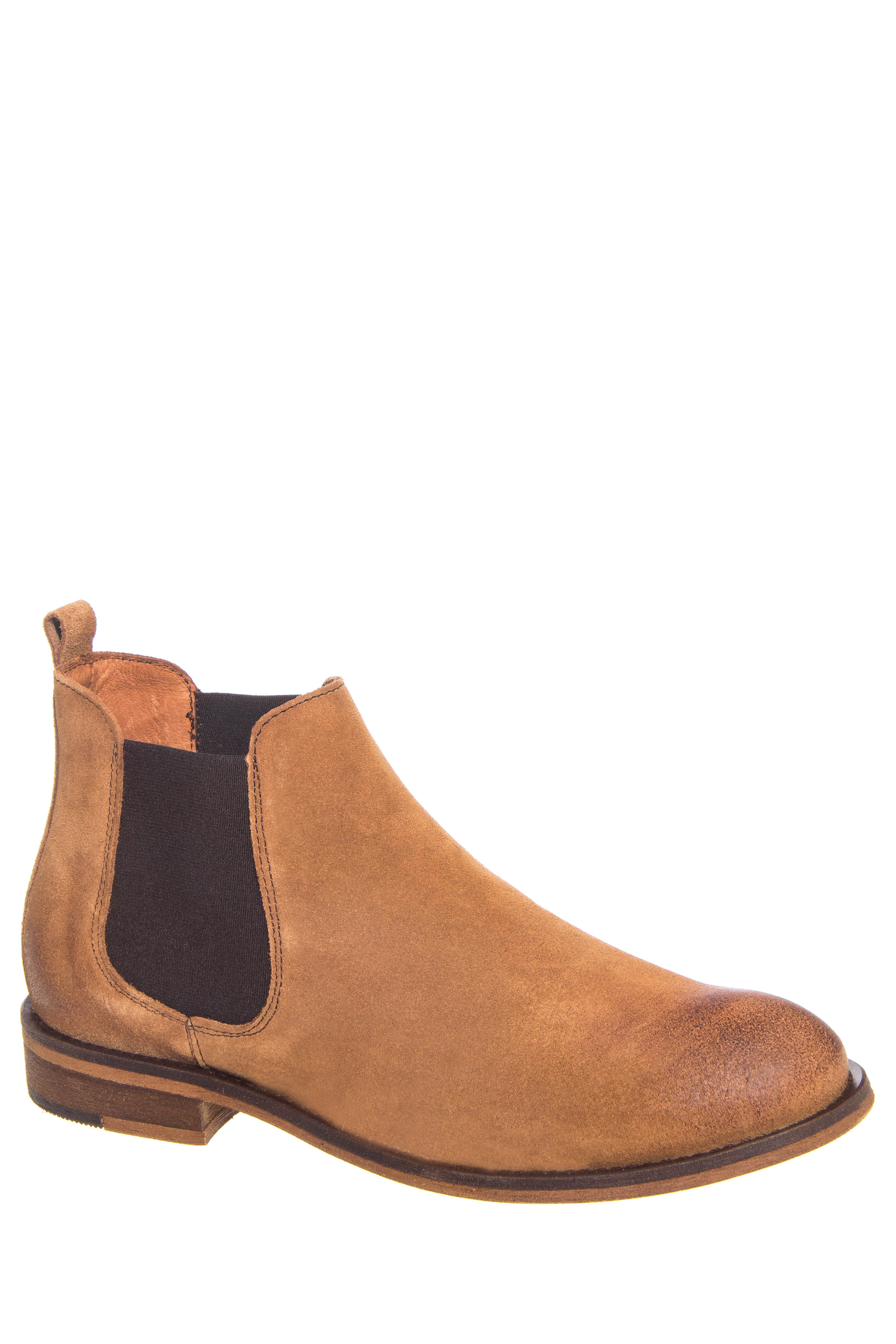 Wolverine 1000 Mile Jean Chelsea Boots - Camel Suede