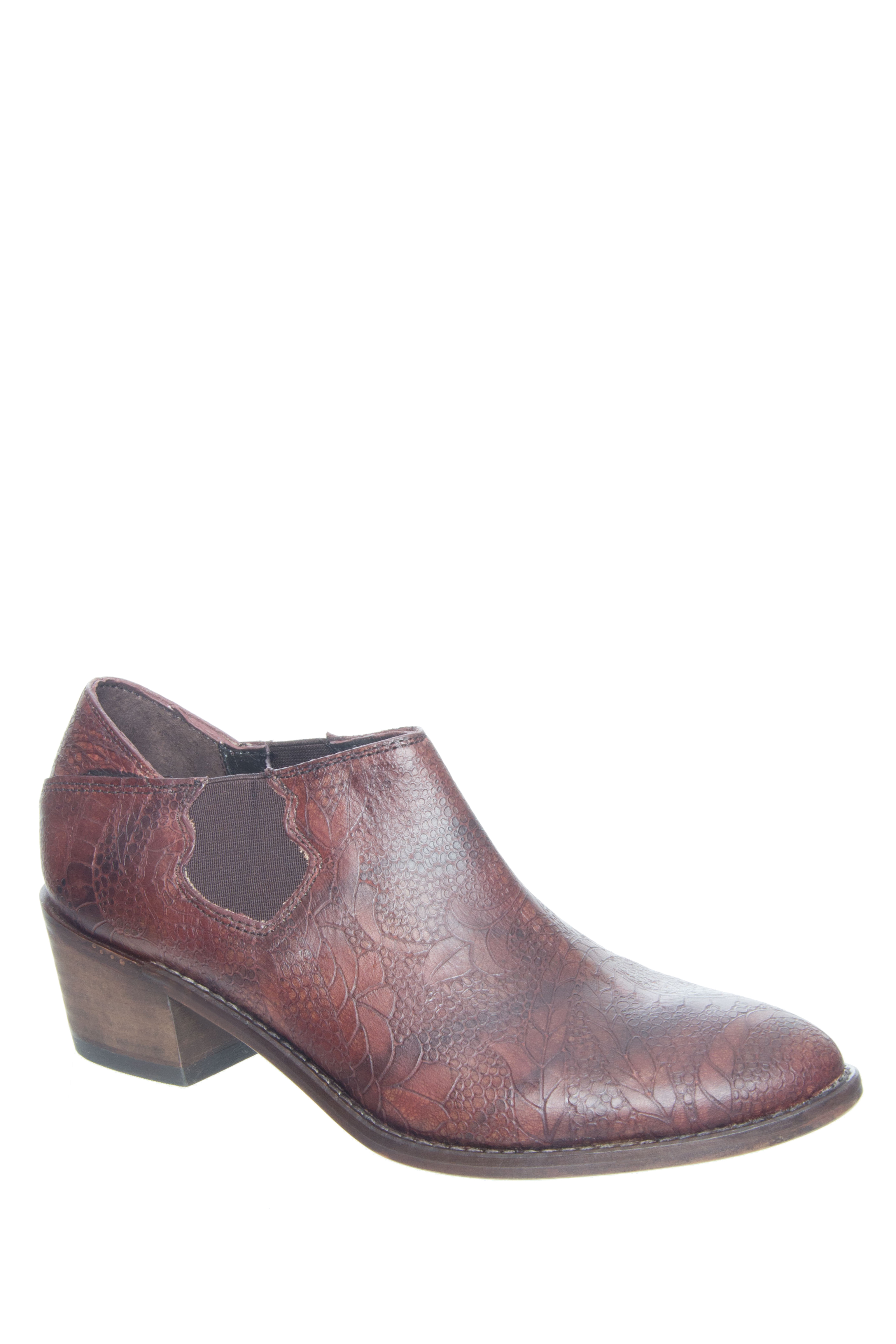 Wolverine 1883 Alice Slip On Boots - Brown
