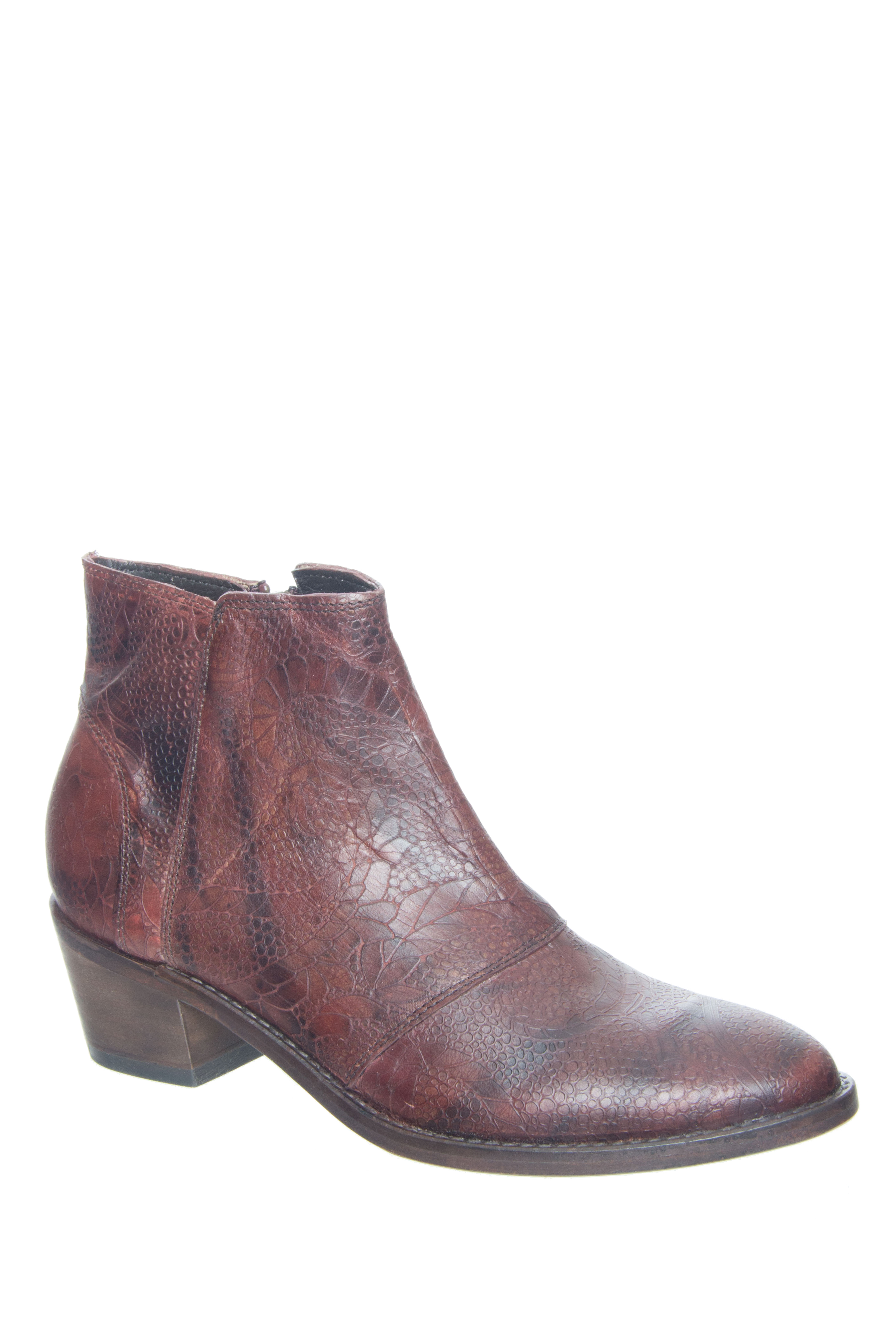 Wolverine 1883 Roxana Low Ankle Boots - Brown