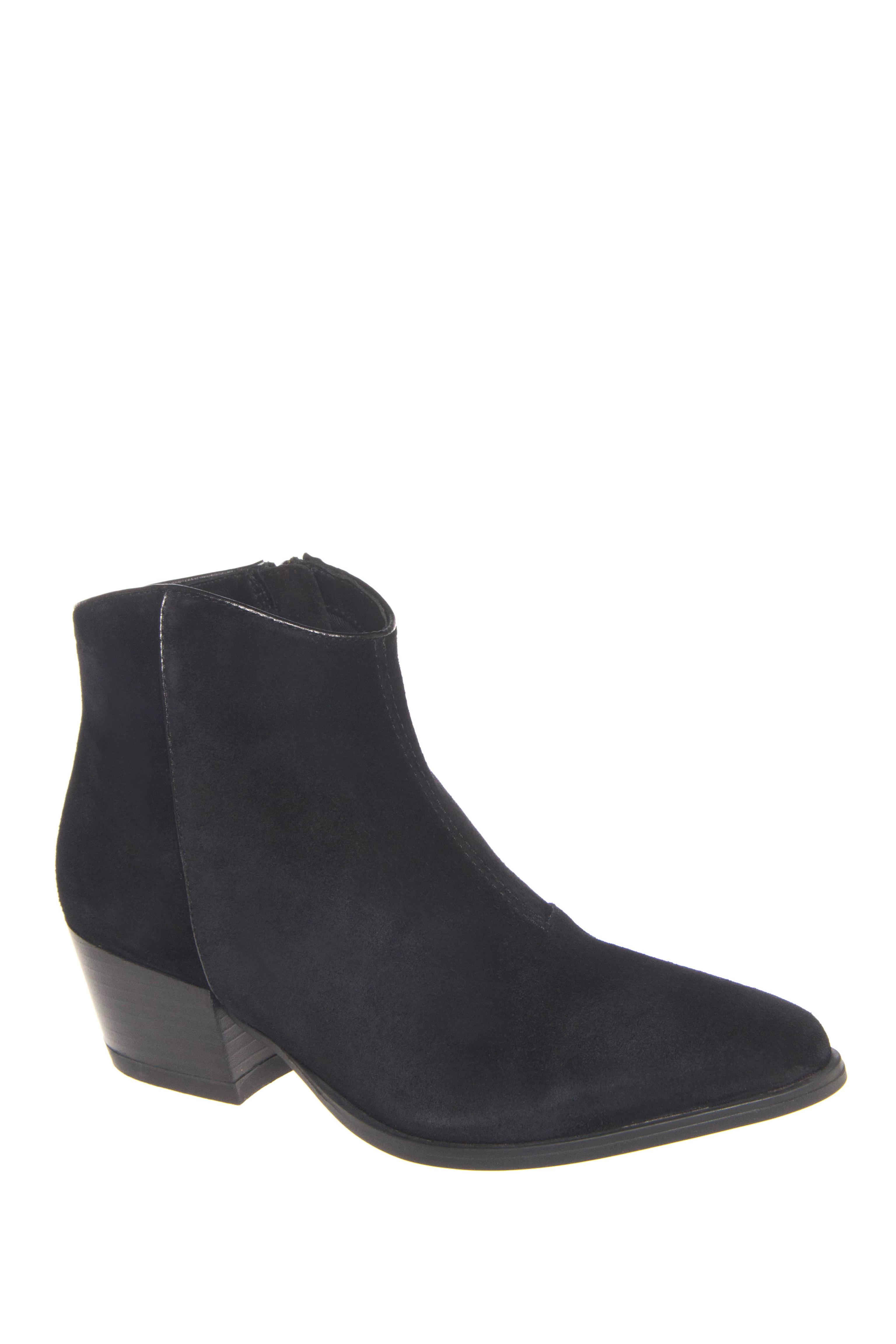 Vagabond Mandy Mid Heel Ankle Boots - Black