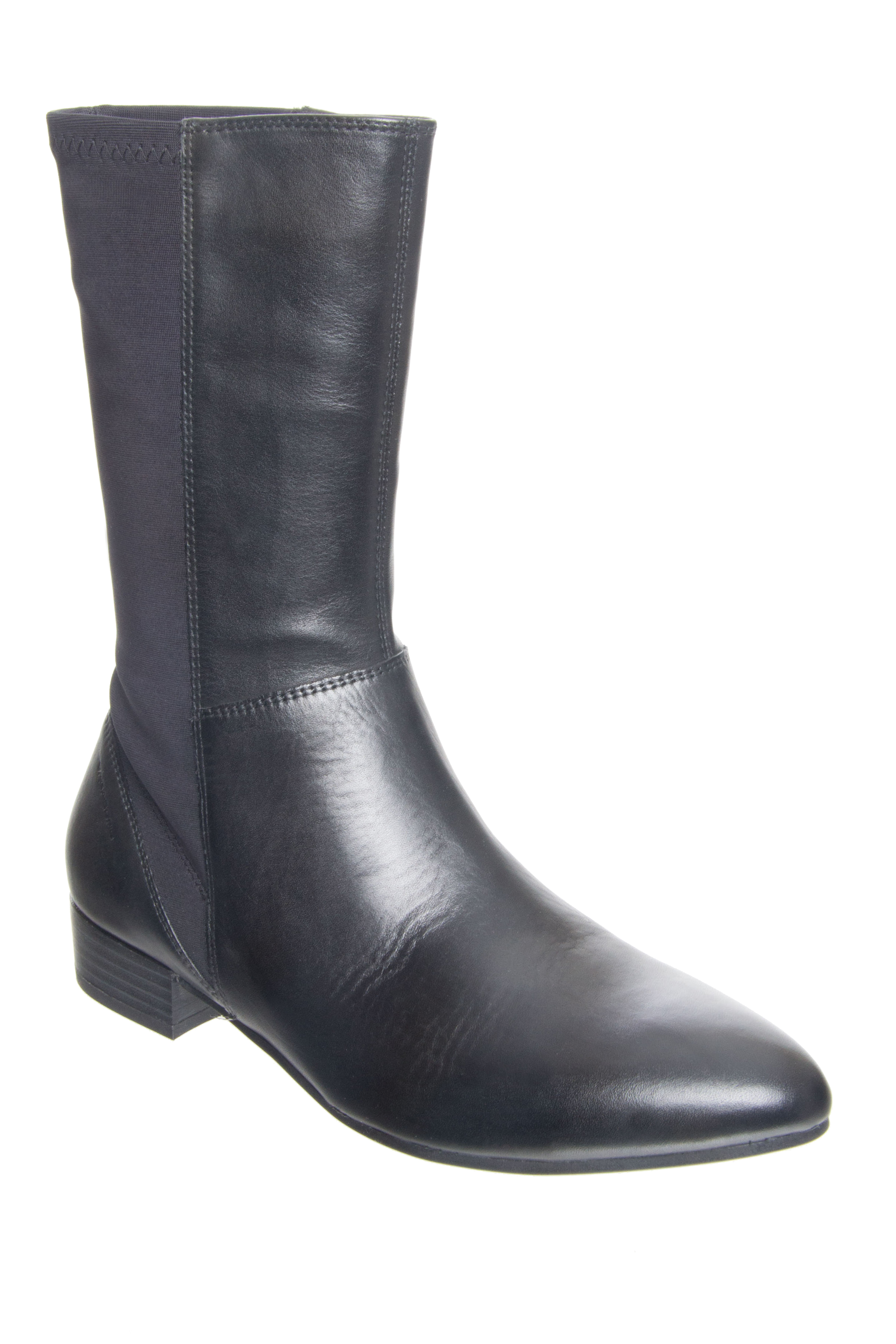 Vagabond Gigi Low Heel Boots - Black