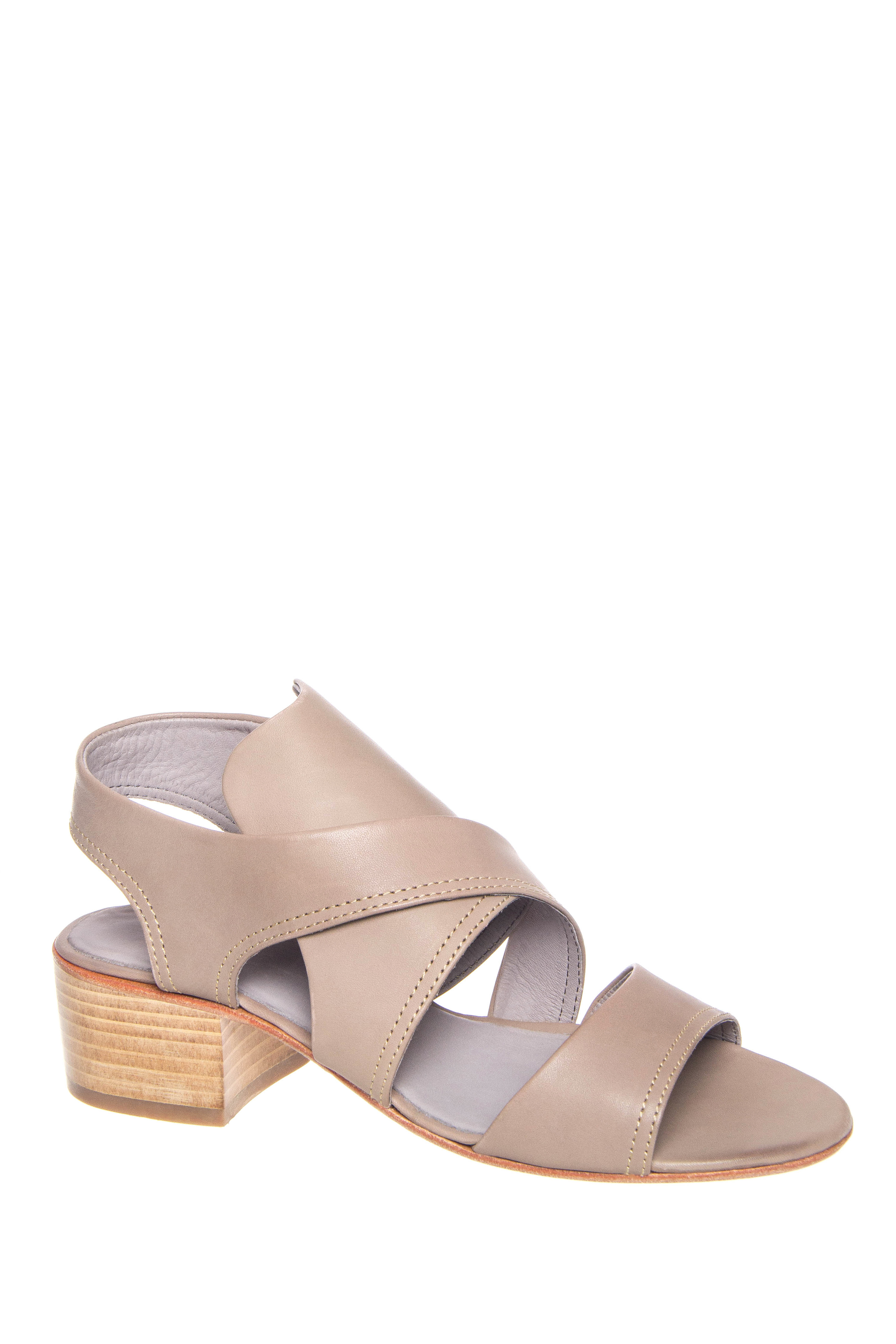 H By Hudson Ayasha Mid Heel Sandals - Taupe