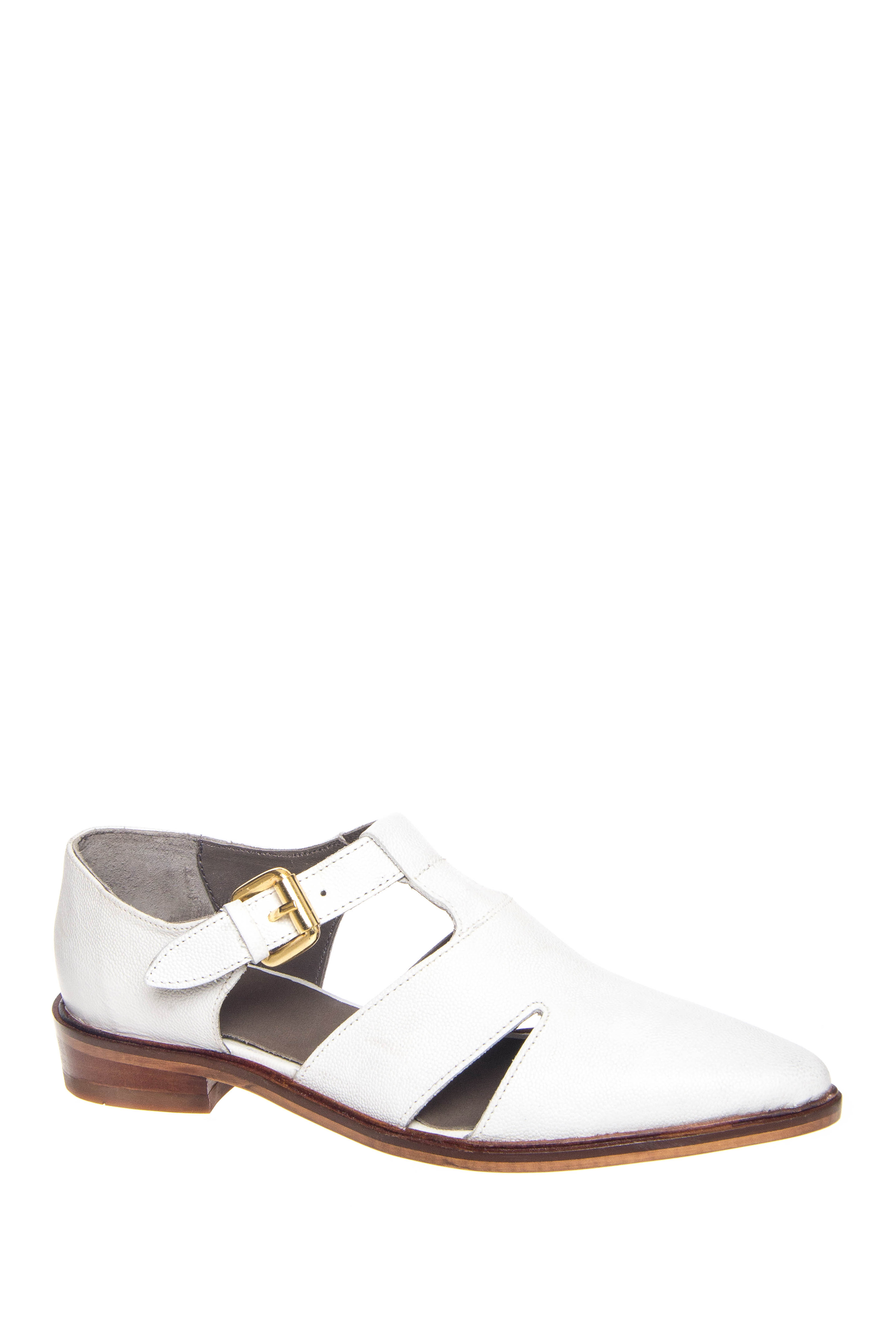 H By Hudson Liv Pointed Toe Oxford - White