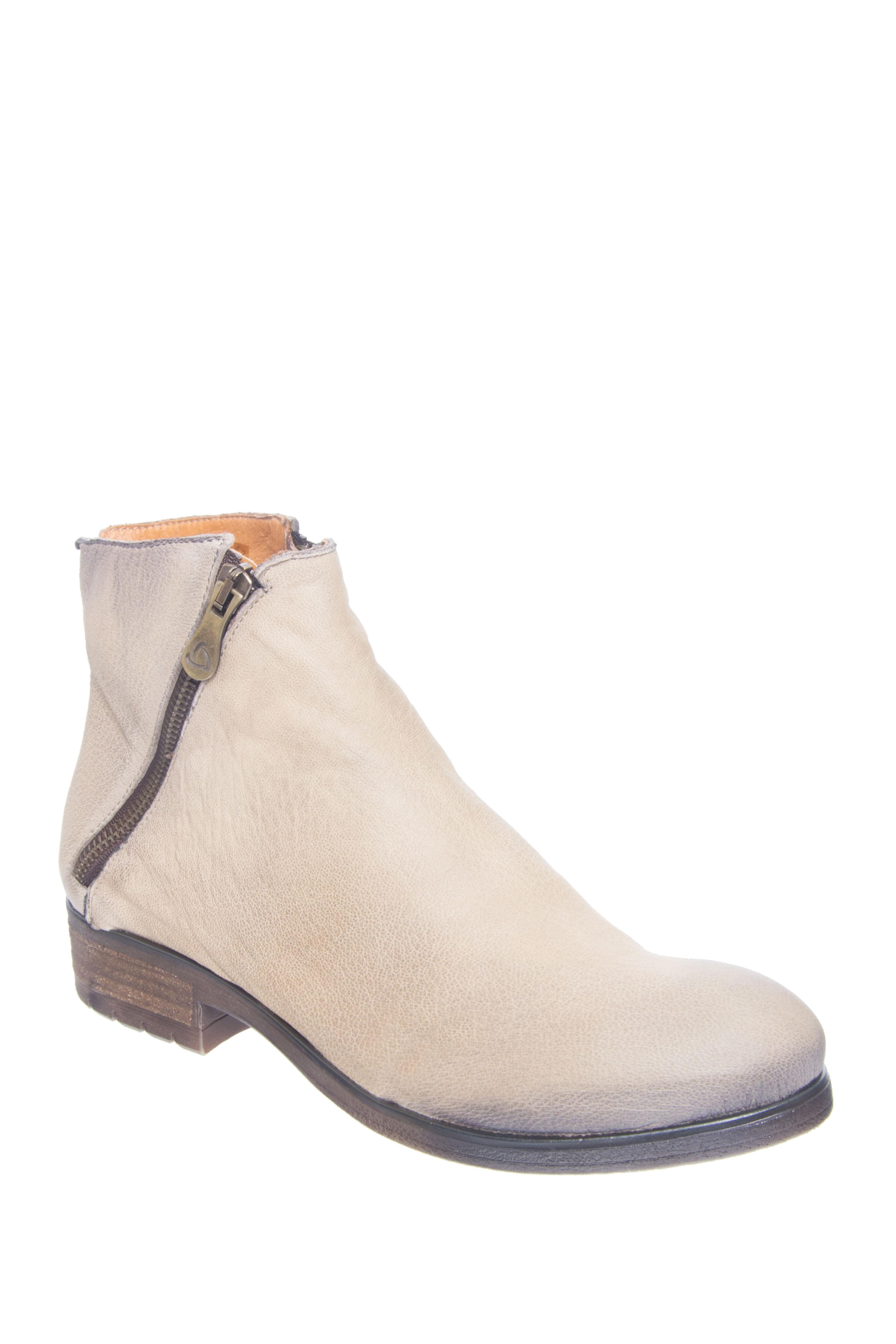 KANNA Oporto Low Heel Booties - Taupe