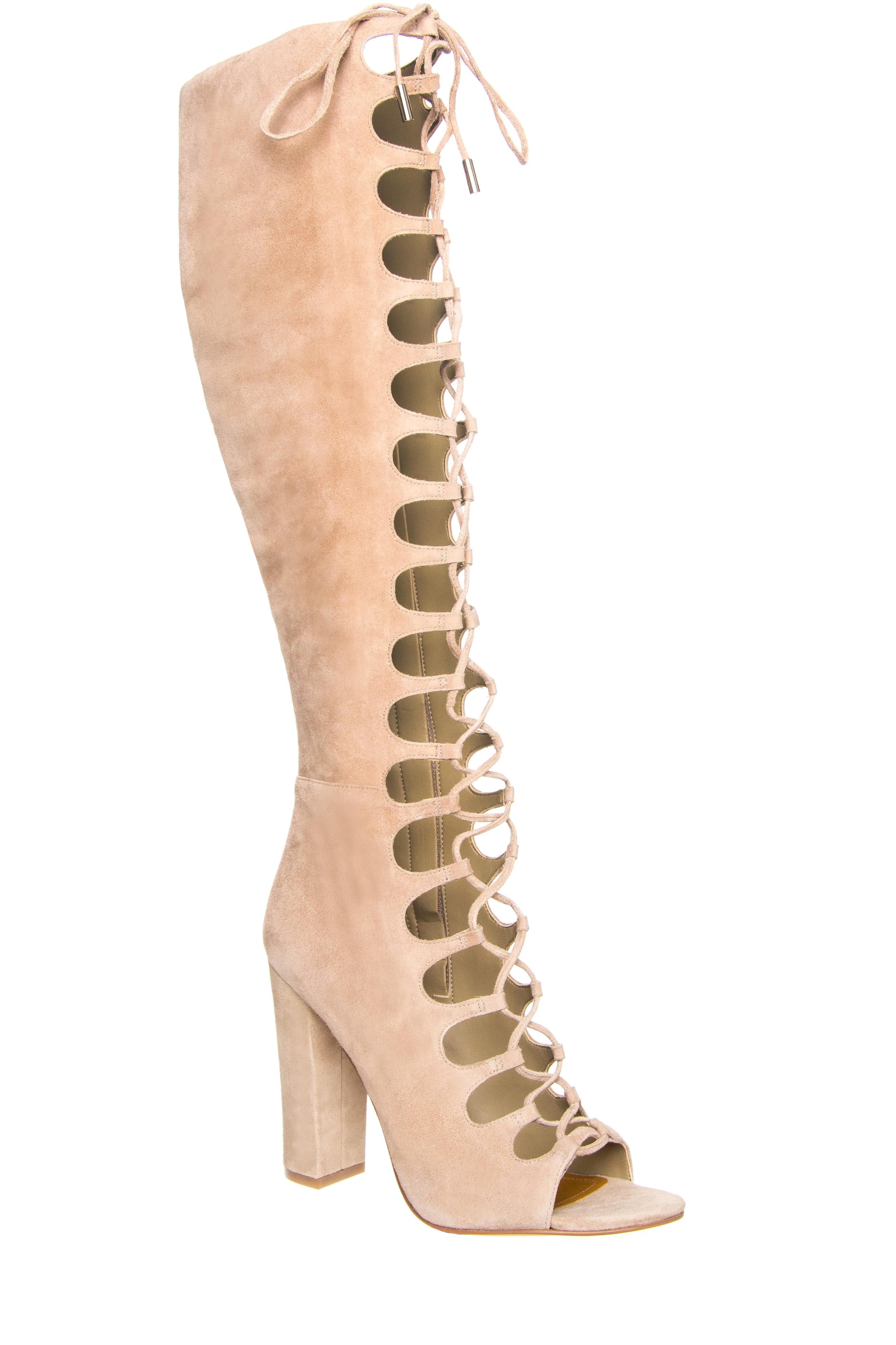 Kendall + Kylie Emma High Heel Tall Gladiator Sandals