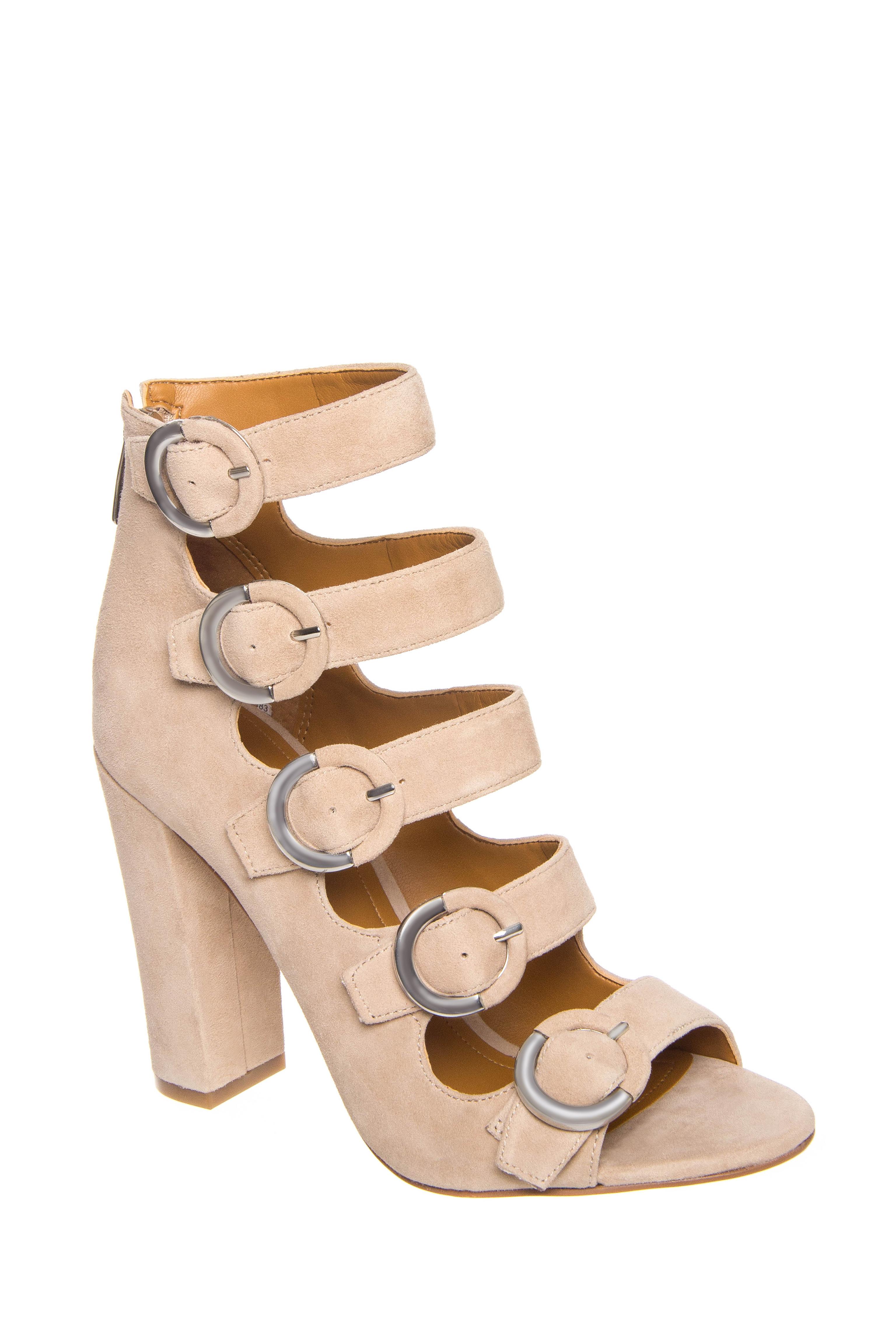 Kendall + Kylie Evie High Heel Multi-Buckle Sandals