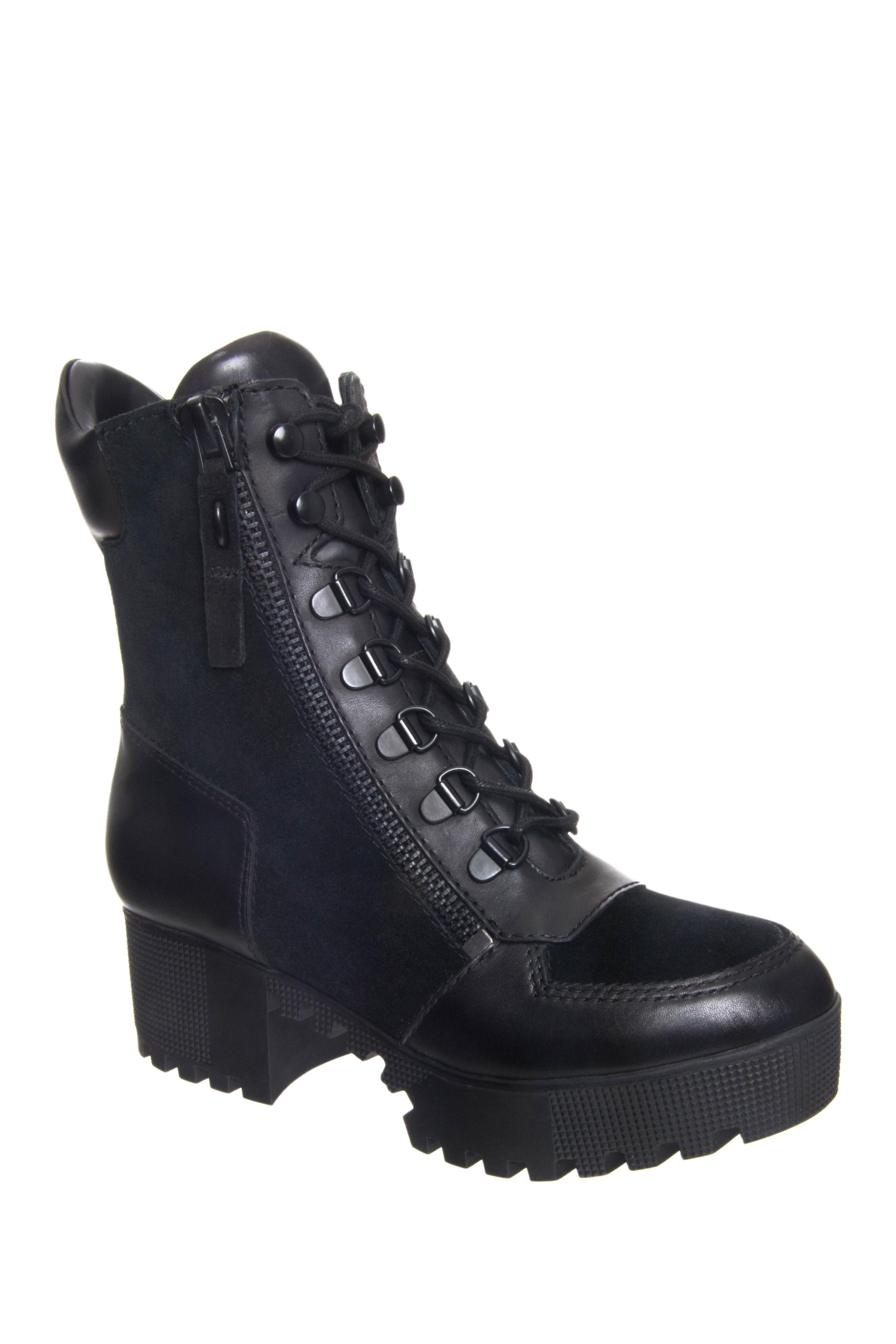 Kendall + Kylie Phoenix Mid Heel Boots - Black