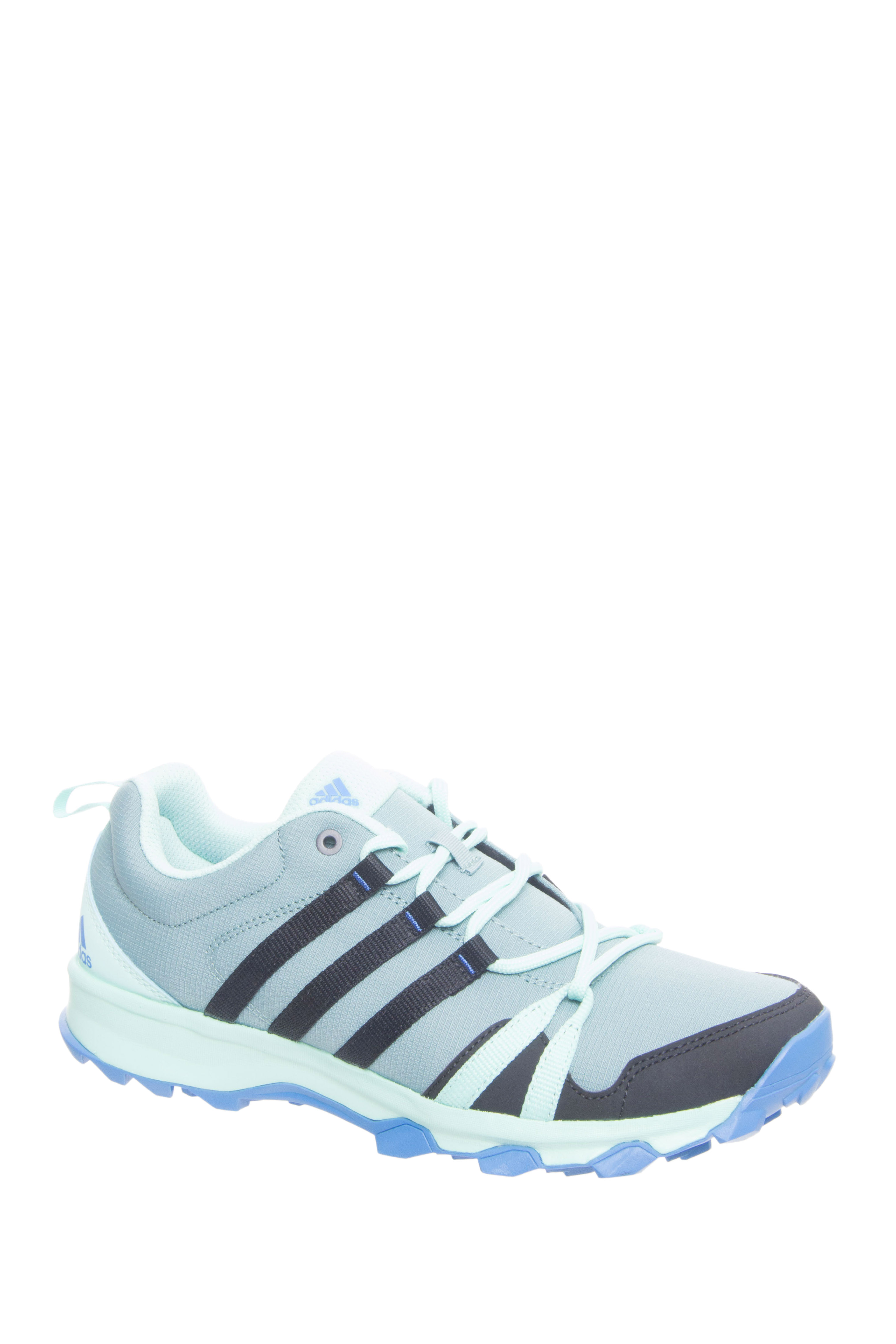 Adidas Outdoor Tracerocker Lace Up Running Sneakers - Ice Blue / Black