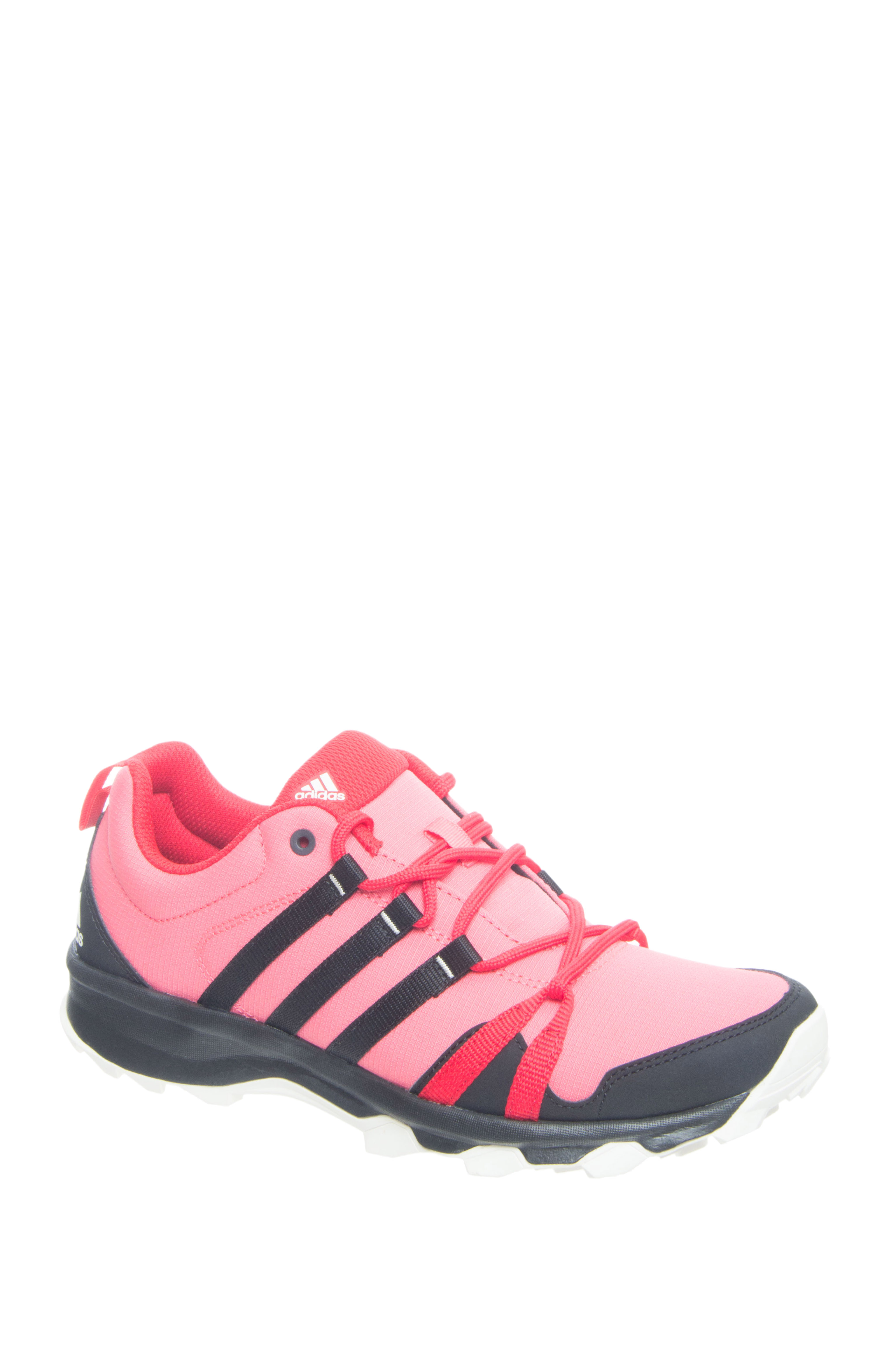 Adidas Outdoor Tracerocker Lace Up Running Sneakers - Red / Black