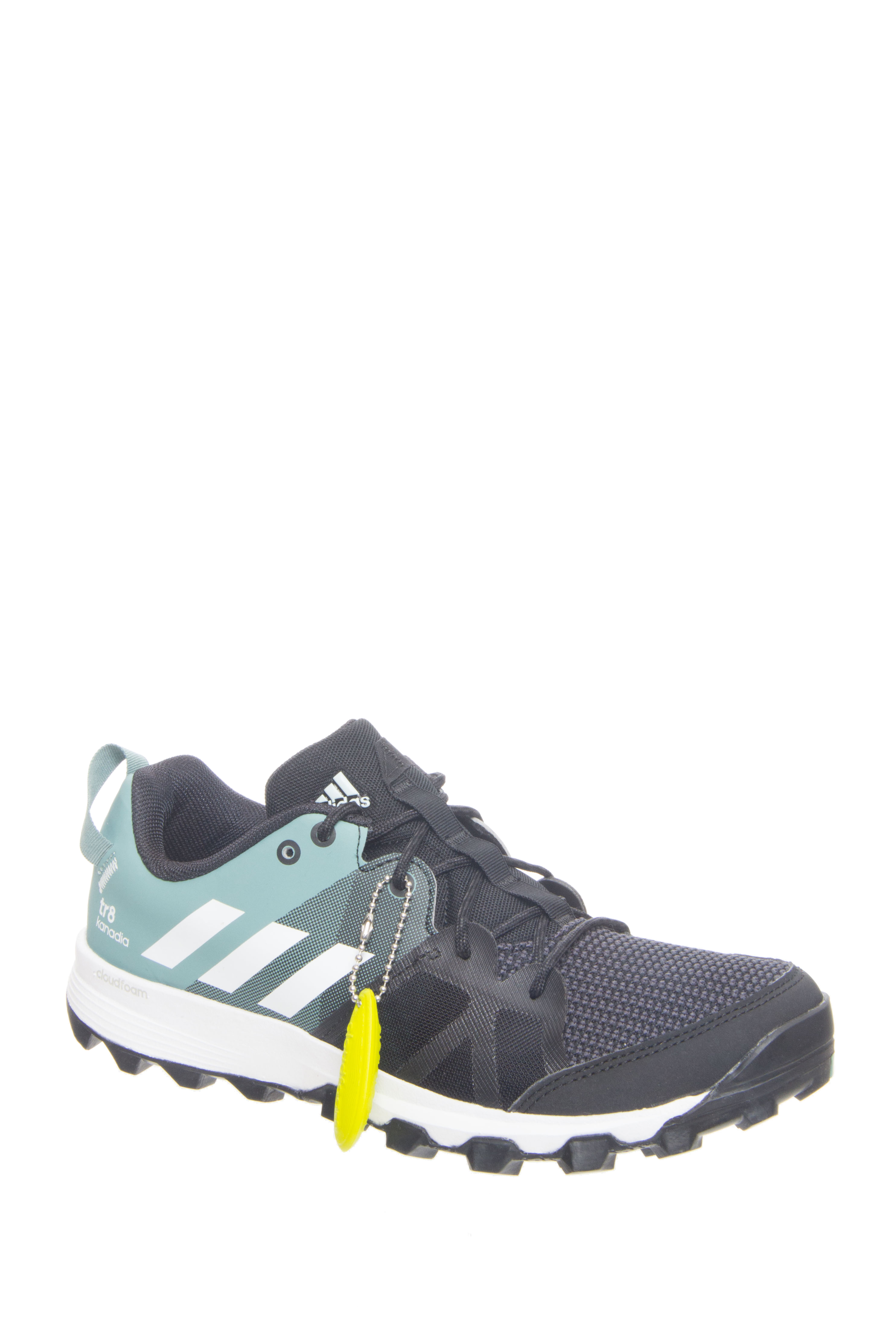 Adidas Outdoor Kanadia 8 TR Low Top Sneakers - Black / Vapour Steel