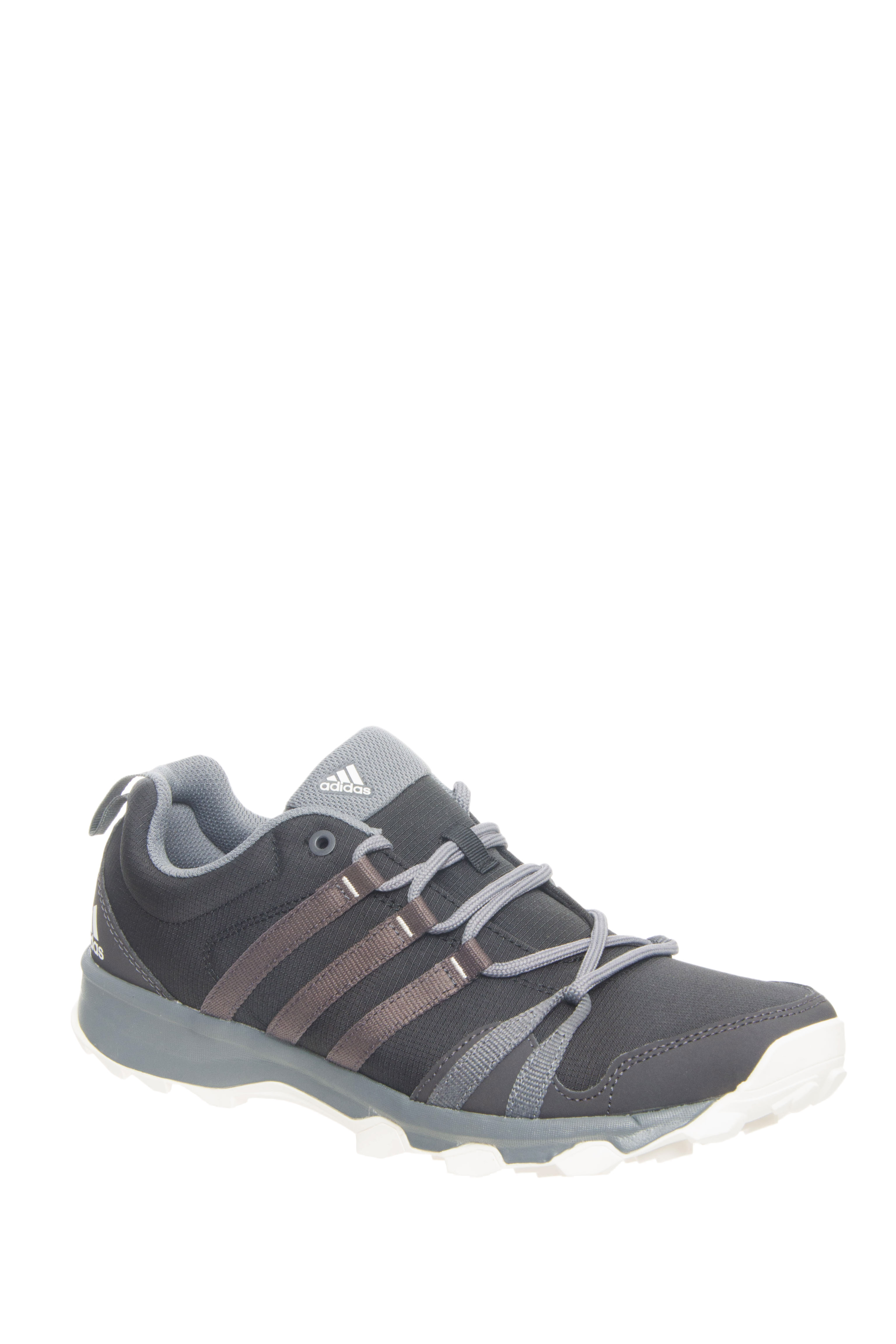 Adidas Outdoor Tracerocker Lace Up Running Sneakers - Grey / Black
