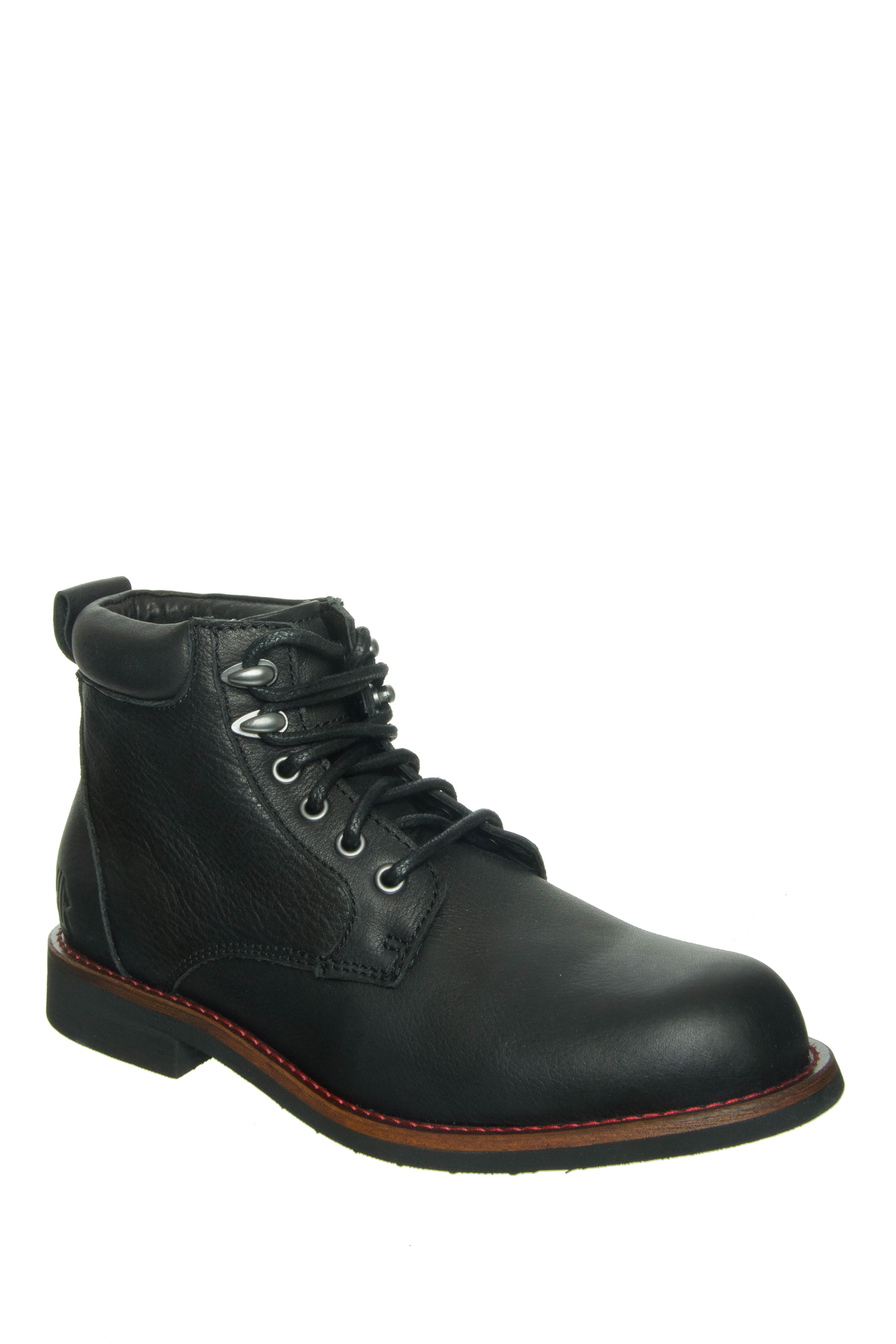 KLR Men's Drew Lace-Up Boots - Black