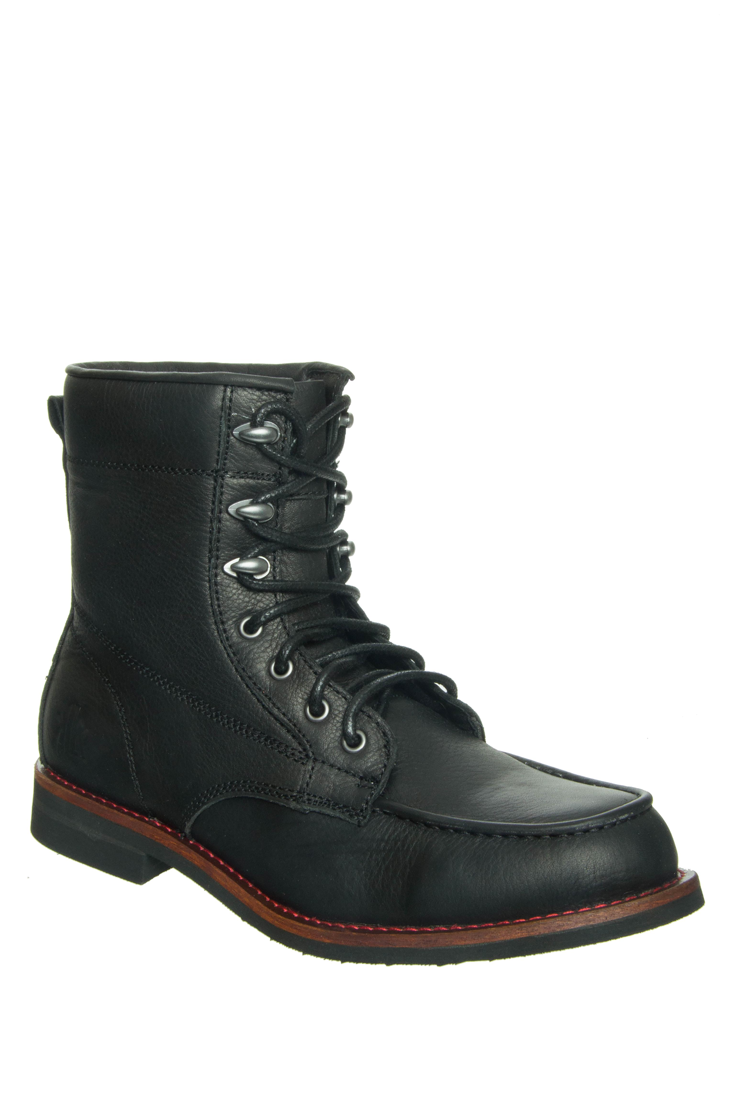 Unisex KLR Ryan Low Heel Boots - Black