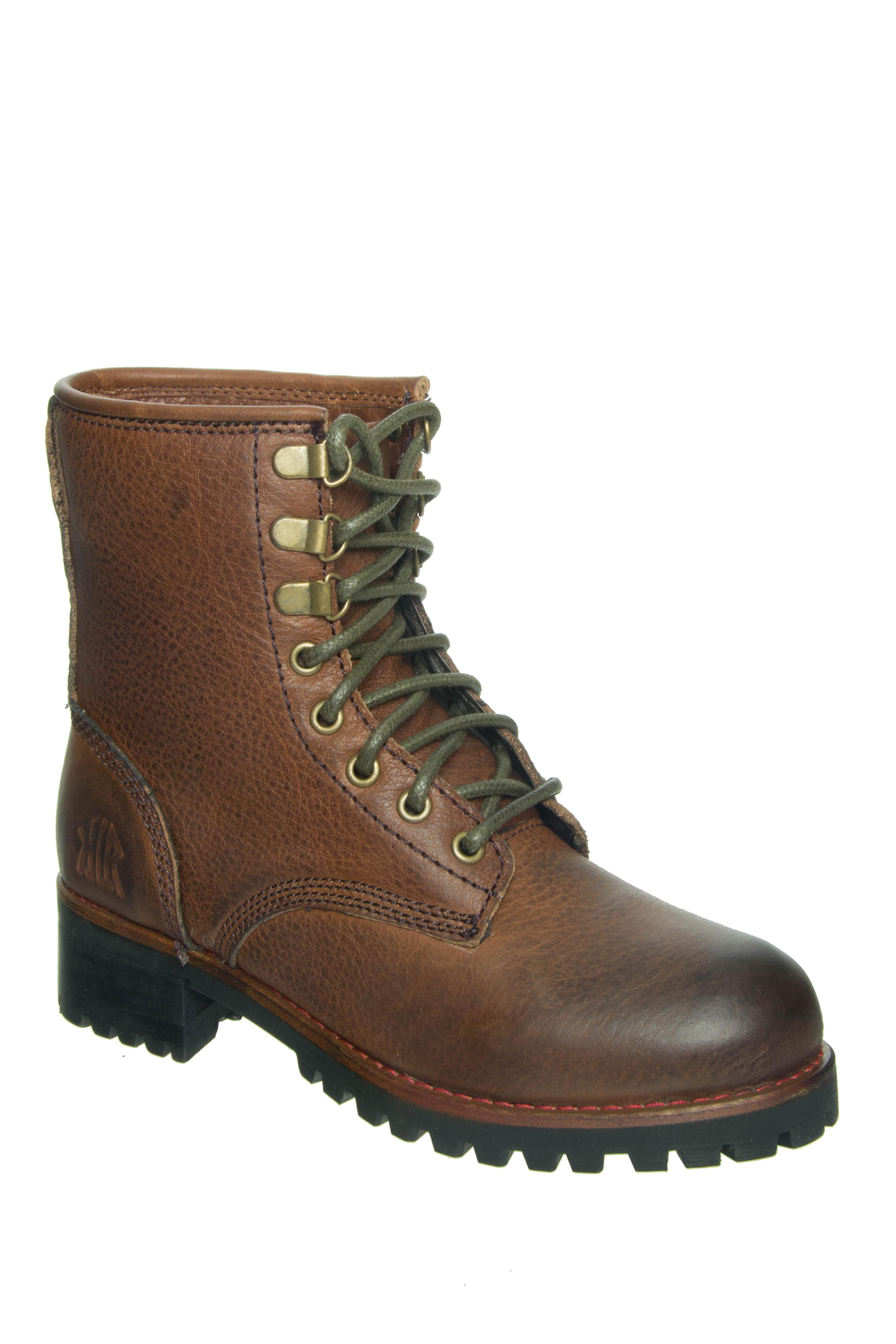 KLR Hails Low Heel Boots - Brown