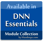 Available in DNN Essentials