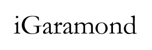 iGaramond Font