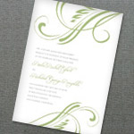 Flourish Invitation